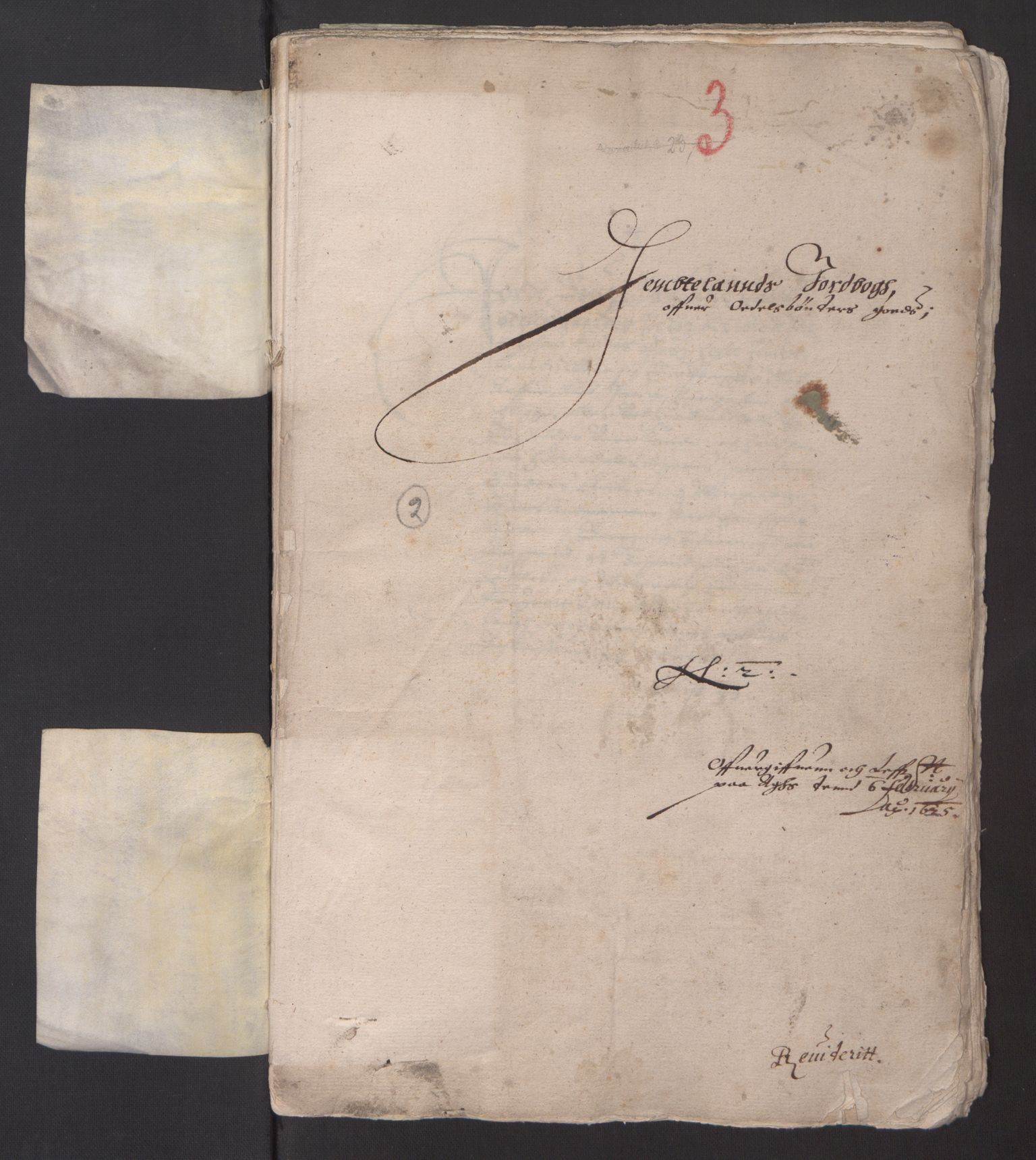 RA, Stattholderembetet 1572-1771, Ek/L0013: Jordebøker til utlikning av rosstjeneste 1624-1626:, 1624-1625, s. 95