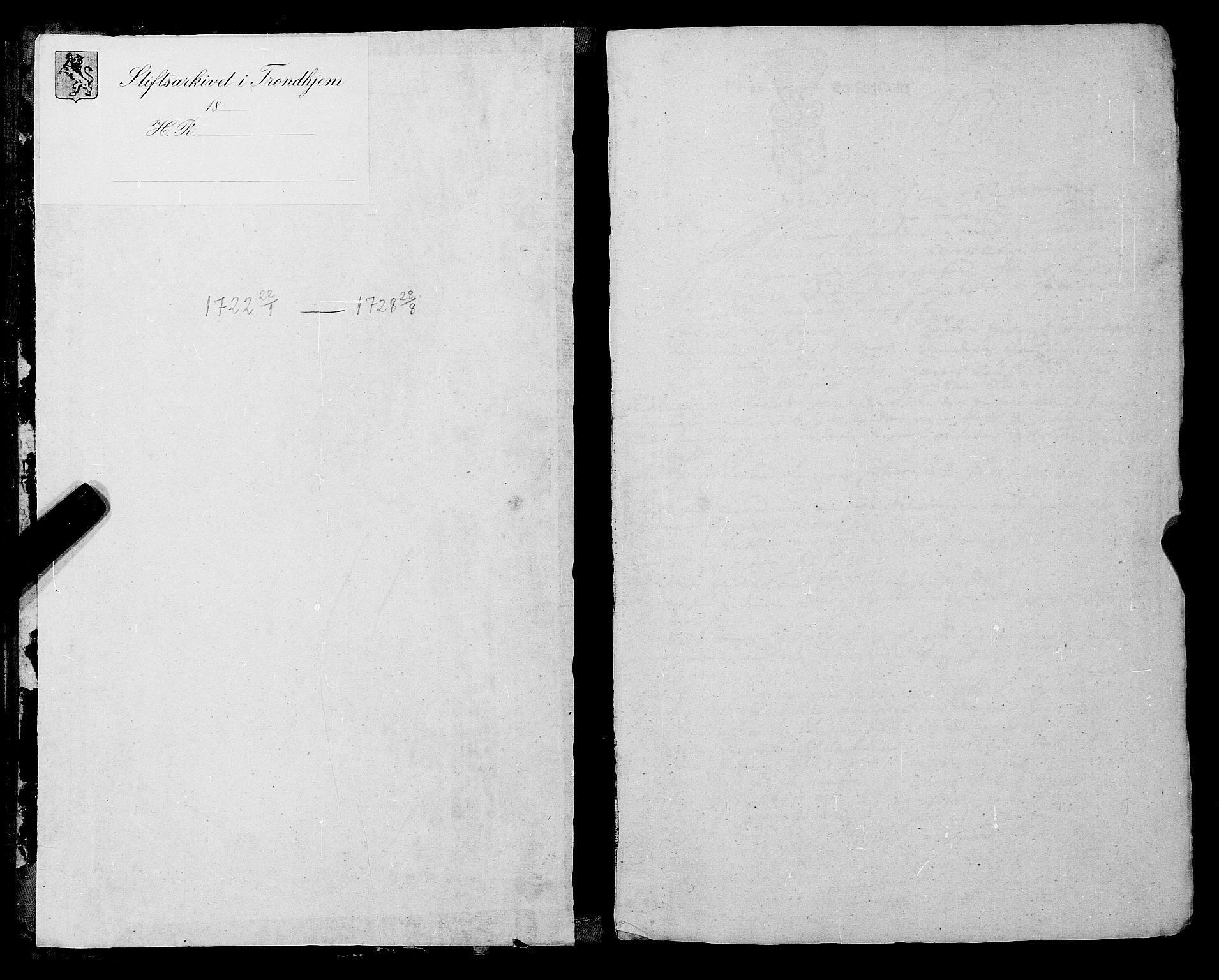 SAT, Romsdal sorenskriveri, 1/1A/L0009: Tingbok, 1722-1728