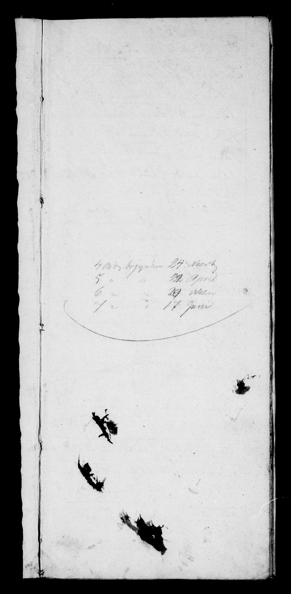 RA, Modums Blaafarveværk, G/Gd/Gdb/L0199: Annotations Bog, Dagbok over inn- og utgående materiale, 1831-1833, s. 2