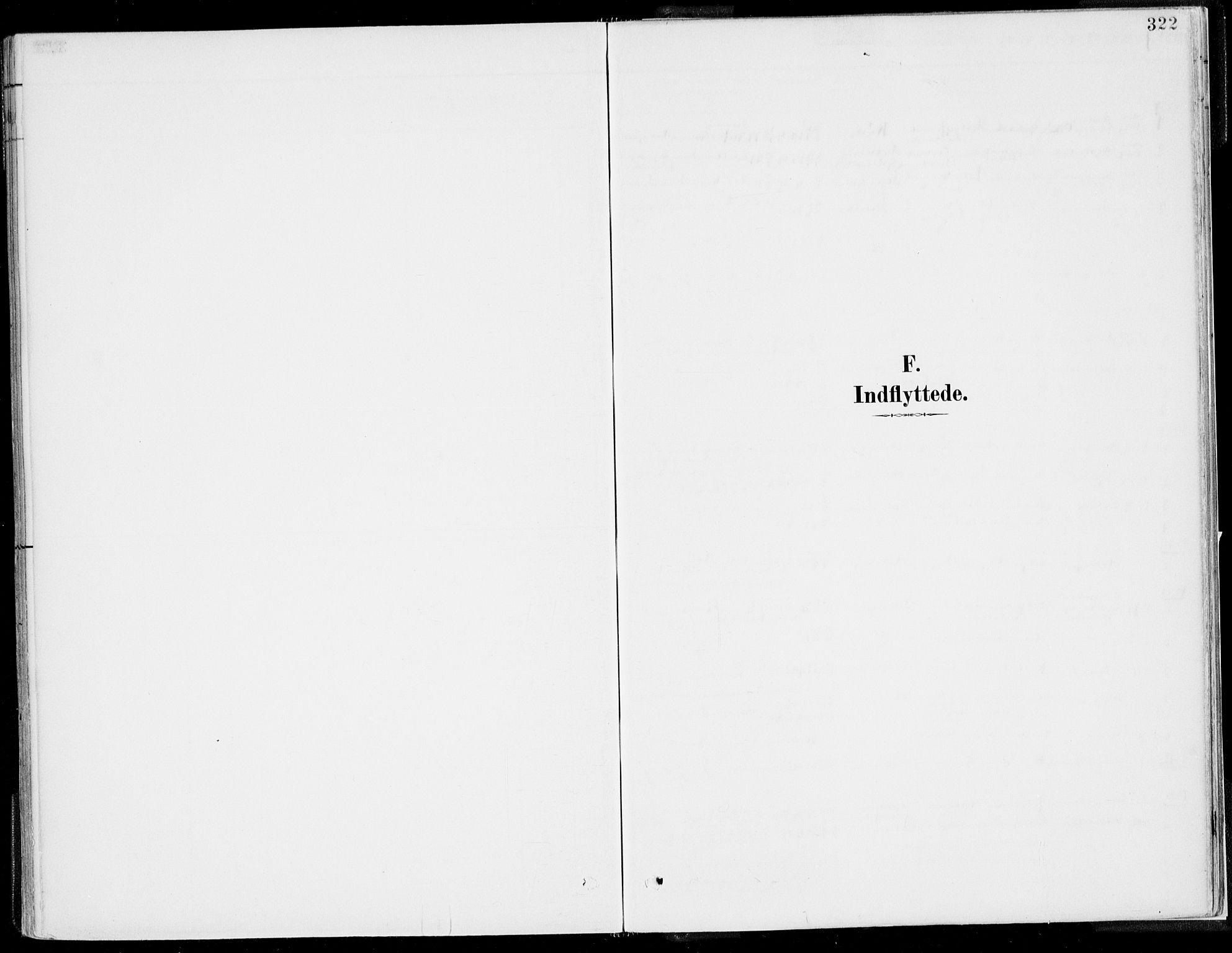 SAB, Kvinnherad Sokneprestembete, H/Haa: Ministerialbok nr. B  1, 1887-1921, s. 322