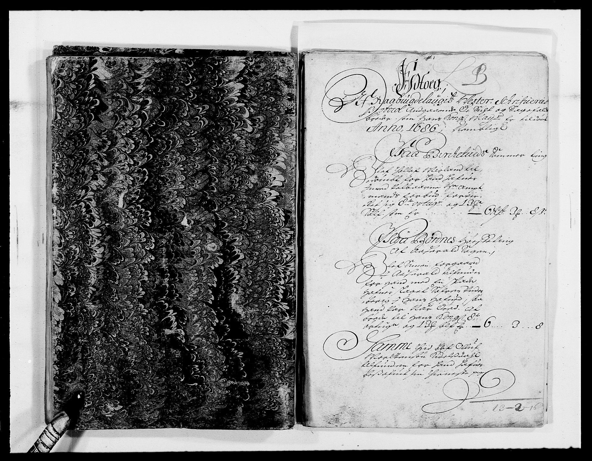 RA, Rentekammeret inntil 1814, Reviderte regnskaper, Fogderegnskap, R40/L2440: Fogderegnskap Råbyggelag, 1686-1687, s. 46