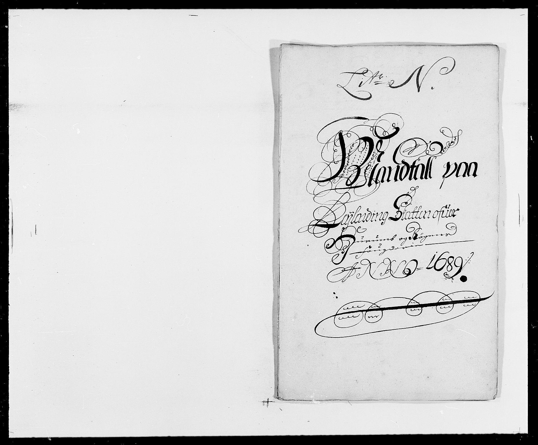 RA, Rentekammeret inntil 1814, Reviderte regnskaper, Fogderegnskap, R29/L1693: Fogderegnskap Hurum og Røyken, 1688-1693, s. 103