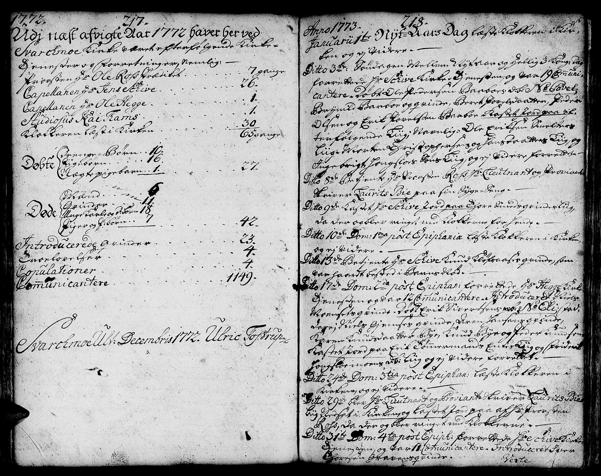 SAT, Ministerialprotokoller, klokkerbøker og fødselsregistre - Sør-Trøndelag, 671/L0840: Ministerialbok nr. 671A02, 1756-1794, s. 217-218