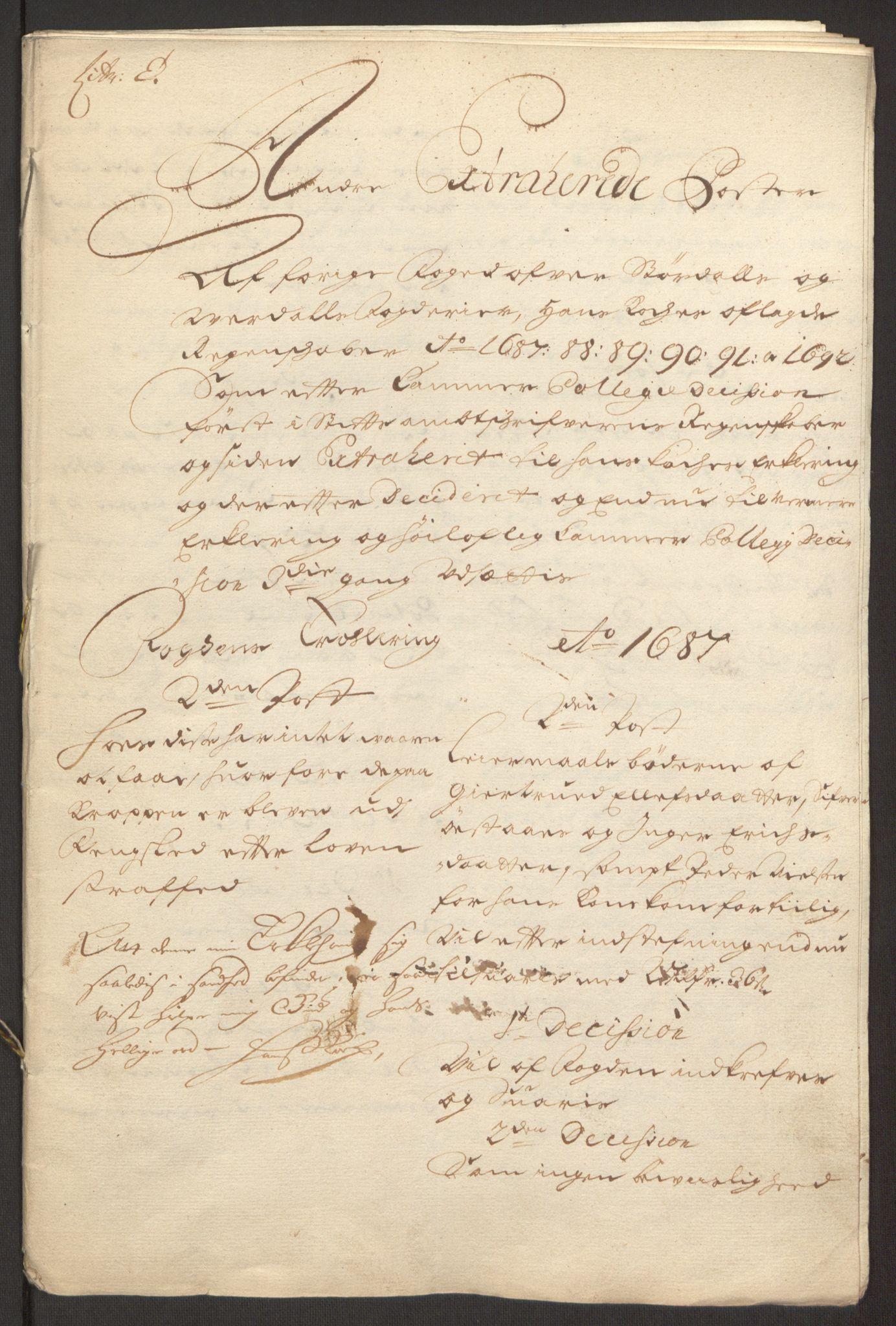 RA, Rentekammeret inntil 1814, Reviderte regnskaper, Fogderegnskap, R62/L4185: Fogderegnskap Stjørdal og Verdal, 1692, s. 394