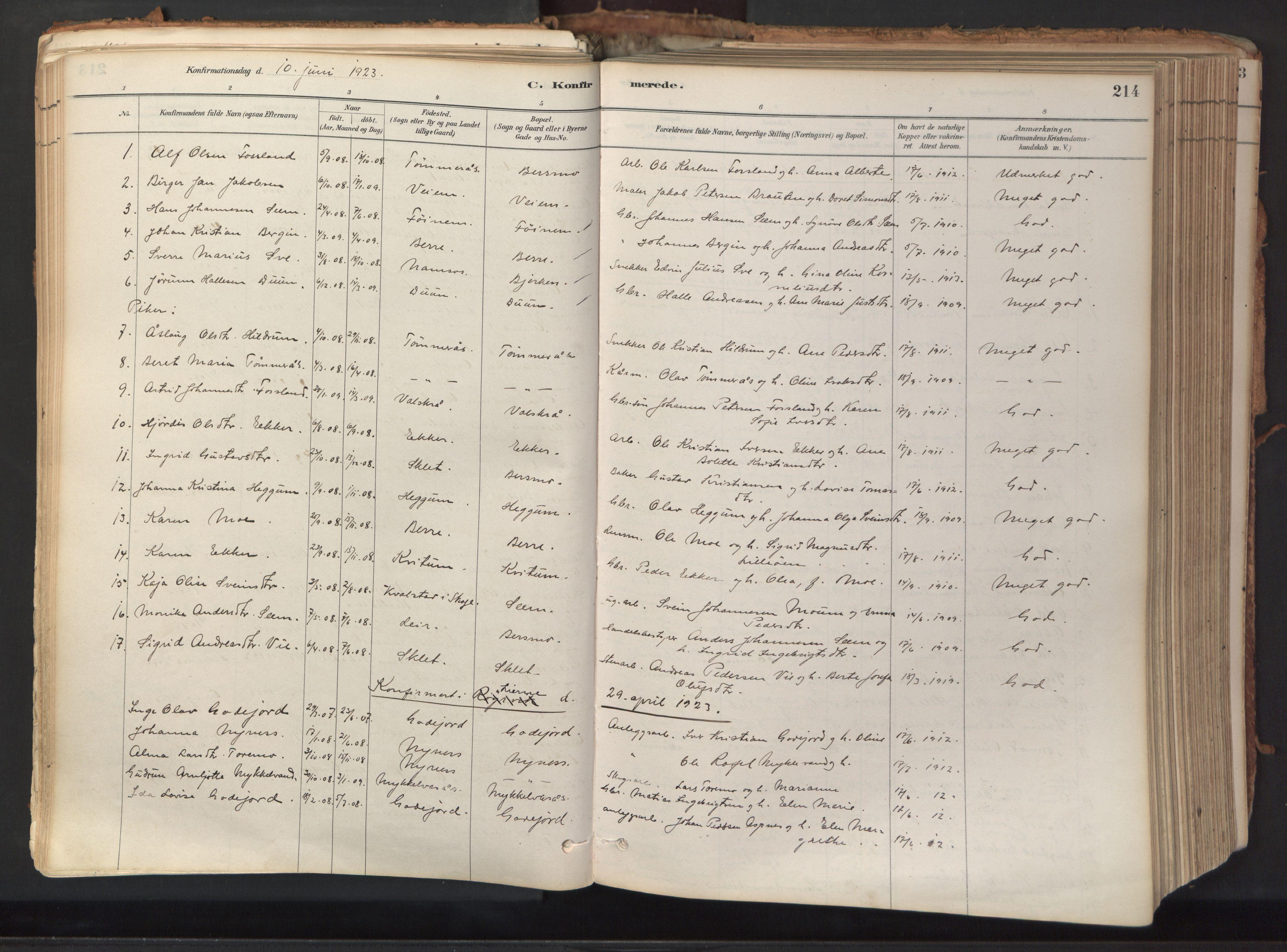 SAT, Ministerialprotokoller, klokkerbøker og fødselsregistre - Nord-Trøndelag, 758/L0519: Ministerialbok nr. 758A04, 1880-1926, s. 214