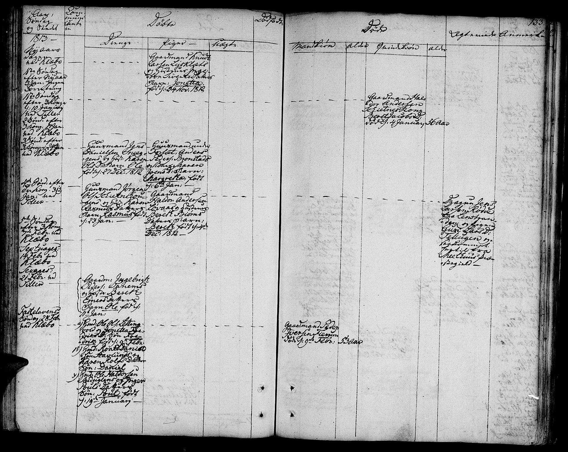 SAT, Ministerialprotokoller, klokkerbøker og fødselsregistre - Sør-Trøndelag, 618/L0438: Ministerialbok nr. 618A03, 1783-1815, s. 133