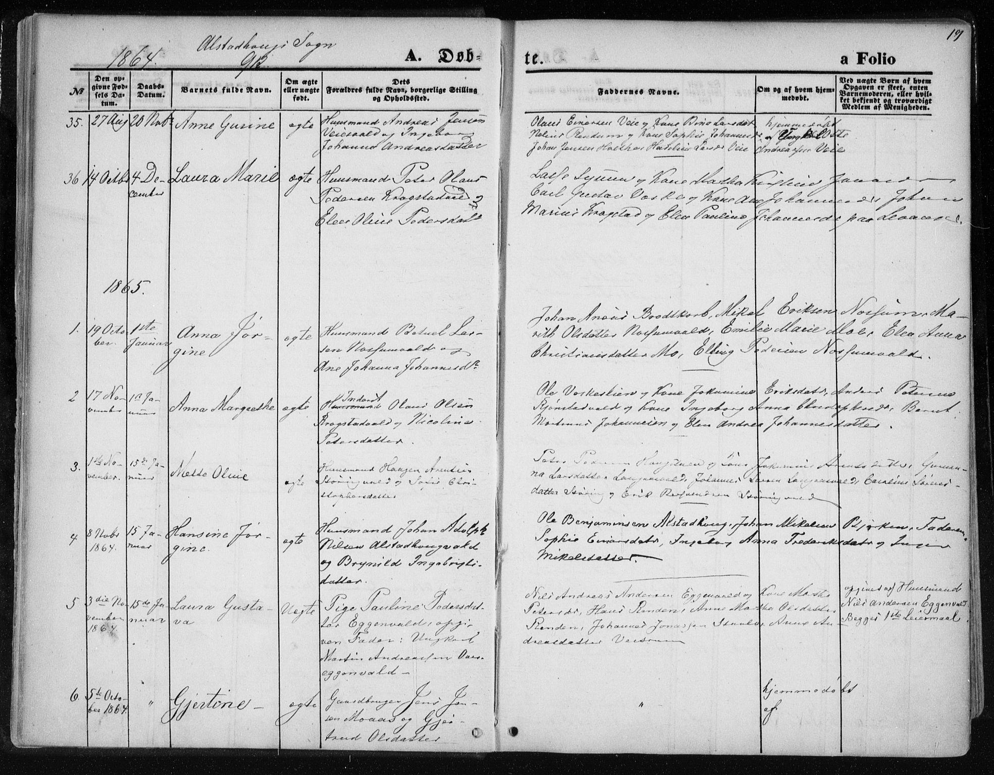 SAT, Ministerialprotokoller, klokkerbøker og fødselsregistre - Nord-Trøndelag, 717/L0157: Ministerialbok nr. 717A08 /1, 1863-1877, s. 19