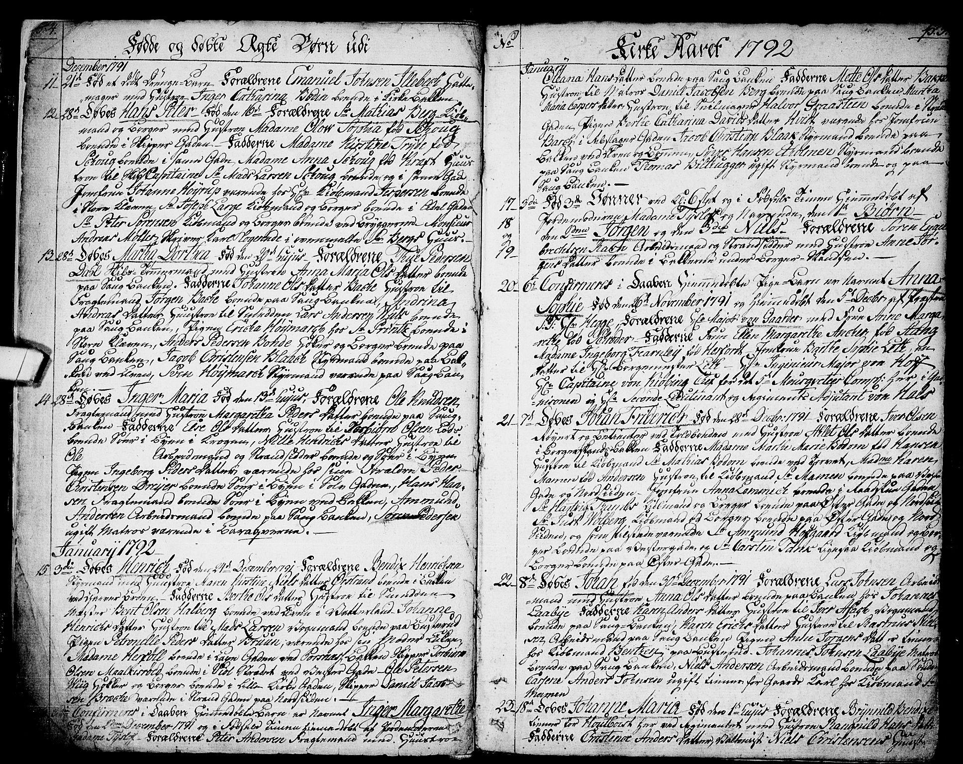 SAO, Halden prestekontor Kirkebøker, F/Fa/L0002: Ministerialbok nr. I 2, 1792-1812, s. 4-5
