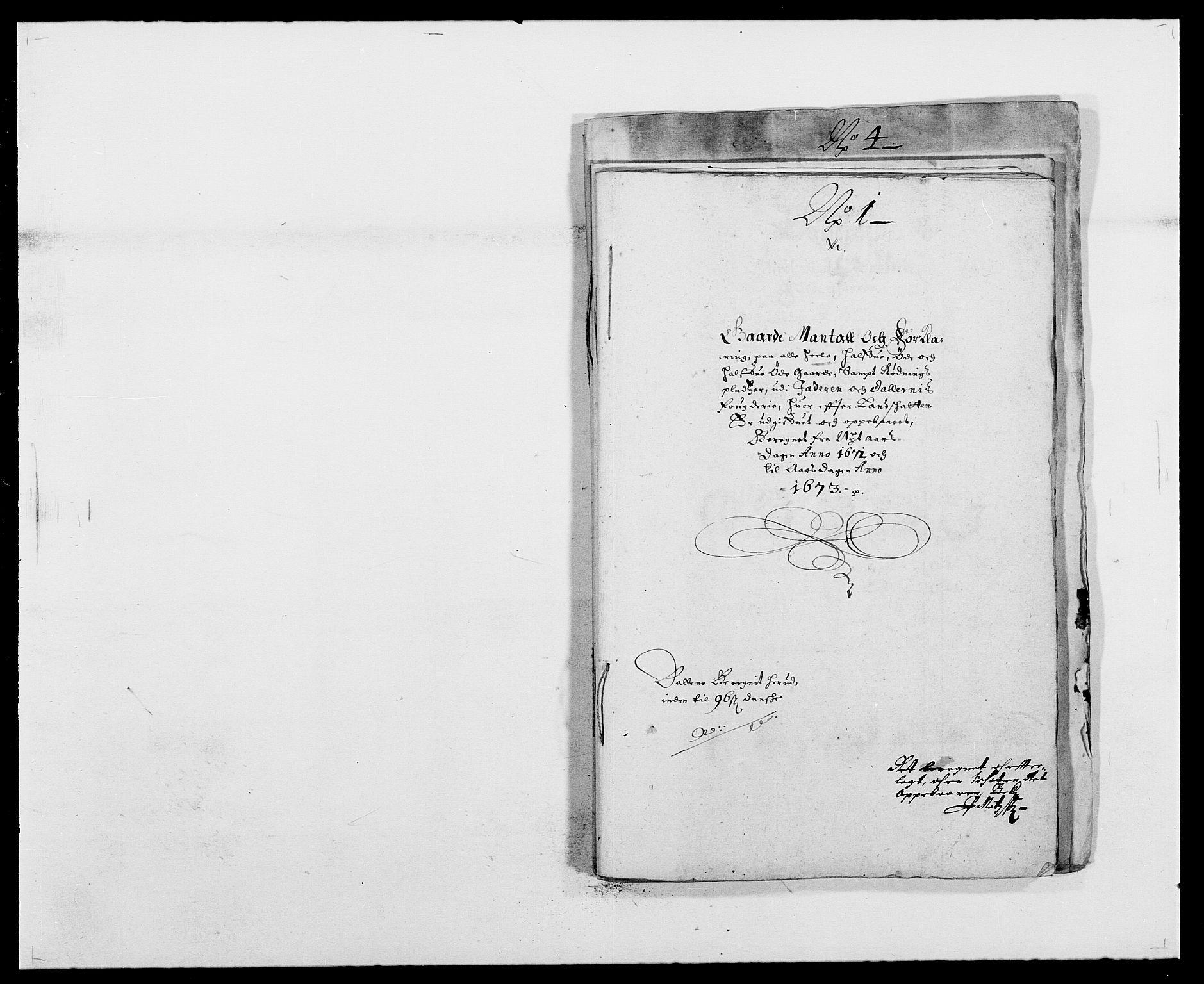 RA, Rentekammeret inntil 1814, Reviderte regnskaper, Fogderegnskap, R46/L2713: Fogderegnskap Jæren og Dalane, 1671-1672, s. 206