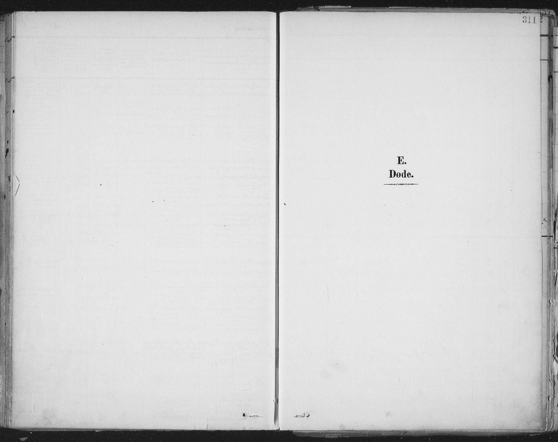 SAT, Ministerialprotokoller, klokkerbøker og fødselsregistre - Sør-Trøndelag, 603/L0167: Ministerialbok nr. 603A06, 1896-1932, s. 311