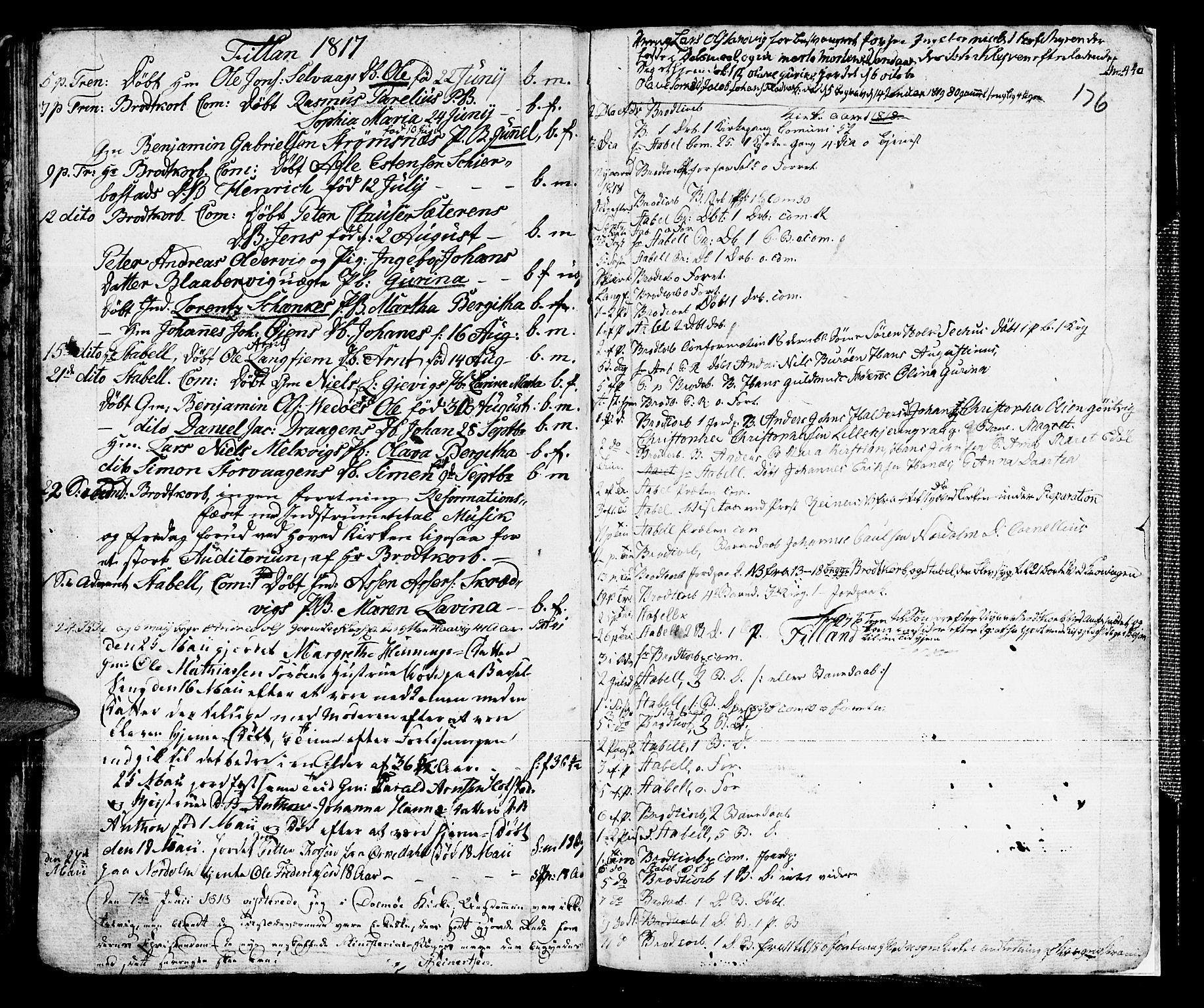 SAT, Ministerialprotokoller, klokkerbøker og fødselsregistre - Sør-Trøndelag, 634/L0526: Ministerialbok nr. 634A02, 1775-1818, s. 176