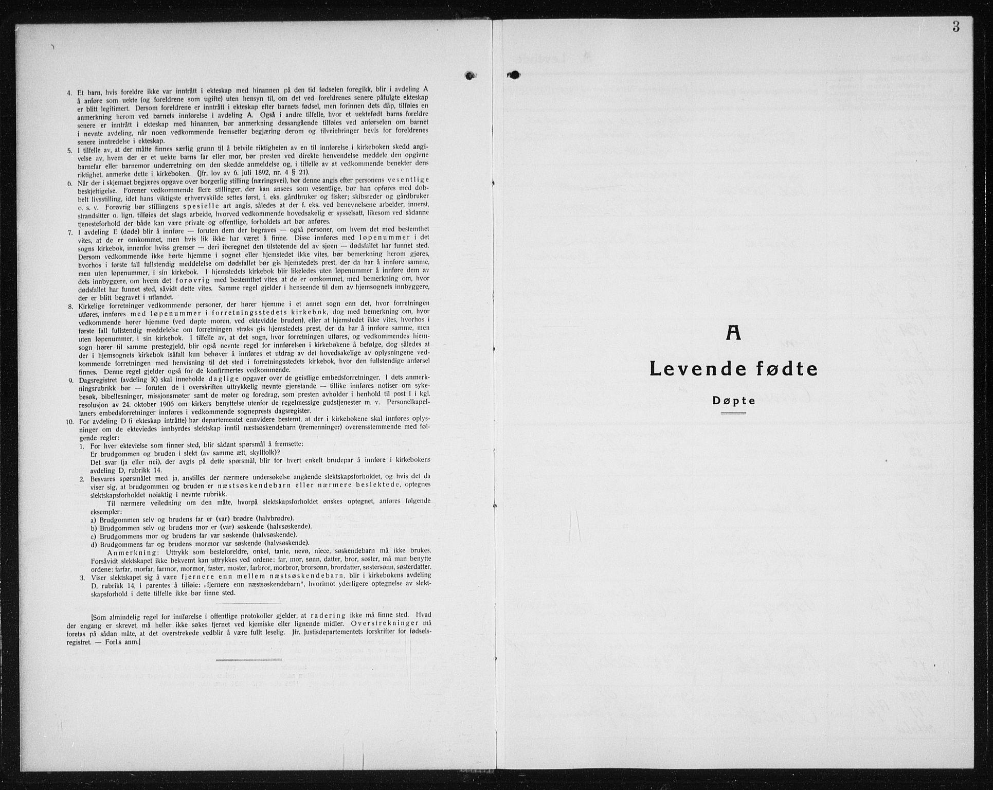 SAT, Ministerialprotokoller, klokkerbøker og fødselsregistre - Sør-Trøndelag, 607/L0327: Klokkerbok nr. 607C01, 1930-1939, s. 3