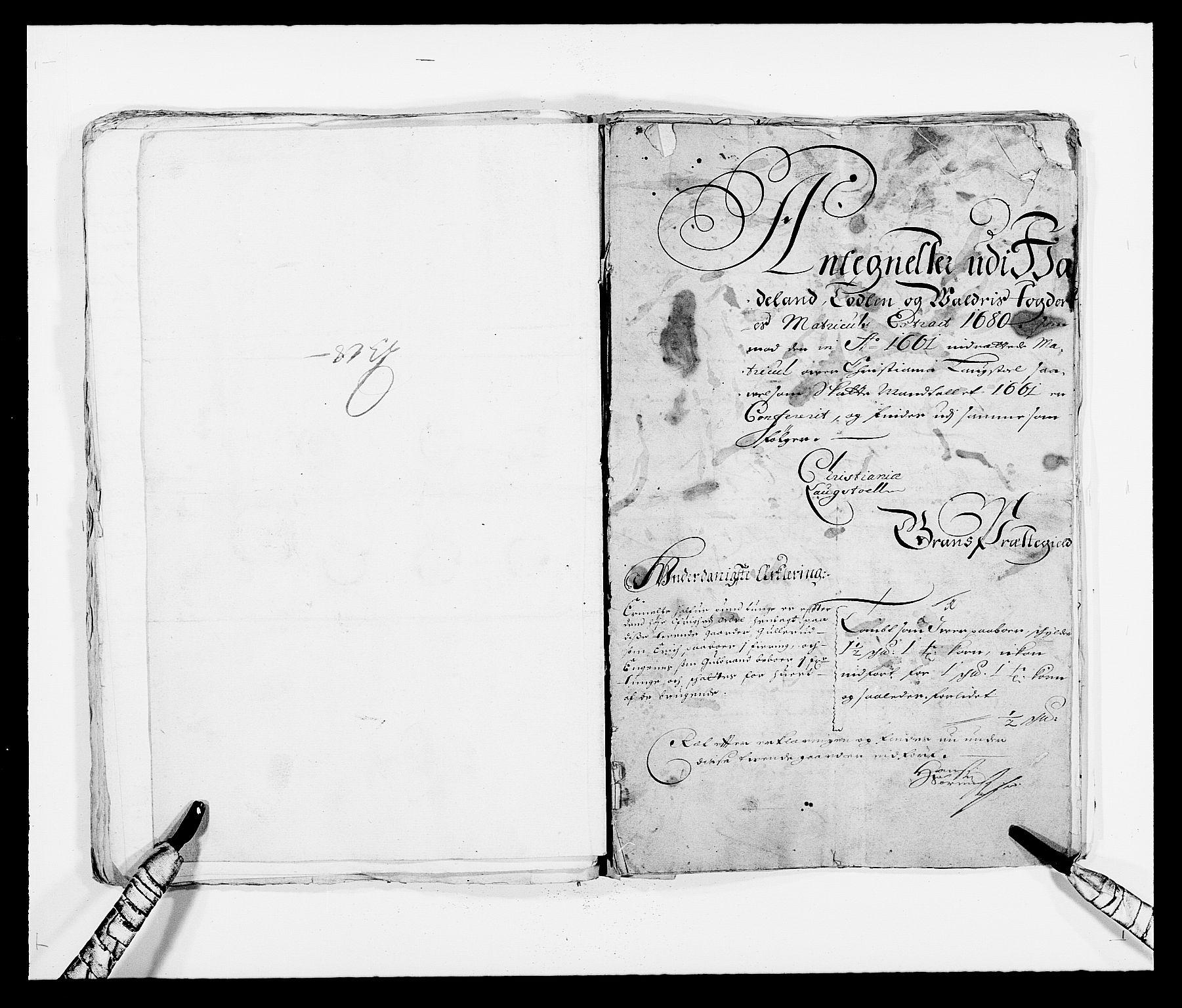 RA, Rentekammeret inntil 1814, Reviderte regnskaper, Fogderegnskap, R18/L1277: Fogderegnskap Hadeland, Toten og Valdres, 1680, s. 146