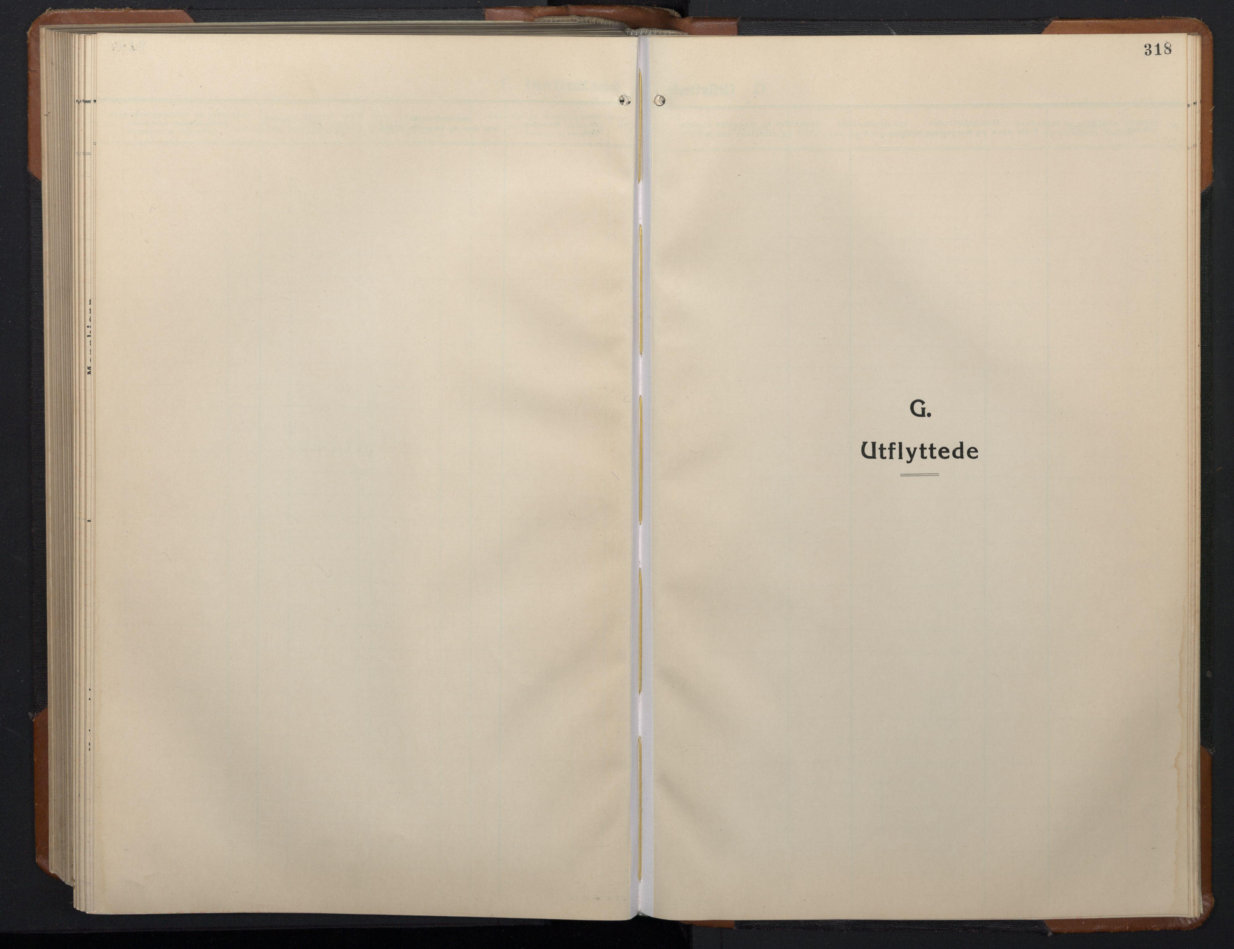 SAT, Ministerialprotokoller, klokkerbøker og fødselsregistre - Sør-Trøndelag, 657/L0718: Klokkerbok nr. 657C05, 1923-1948, s. 318