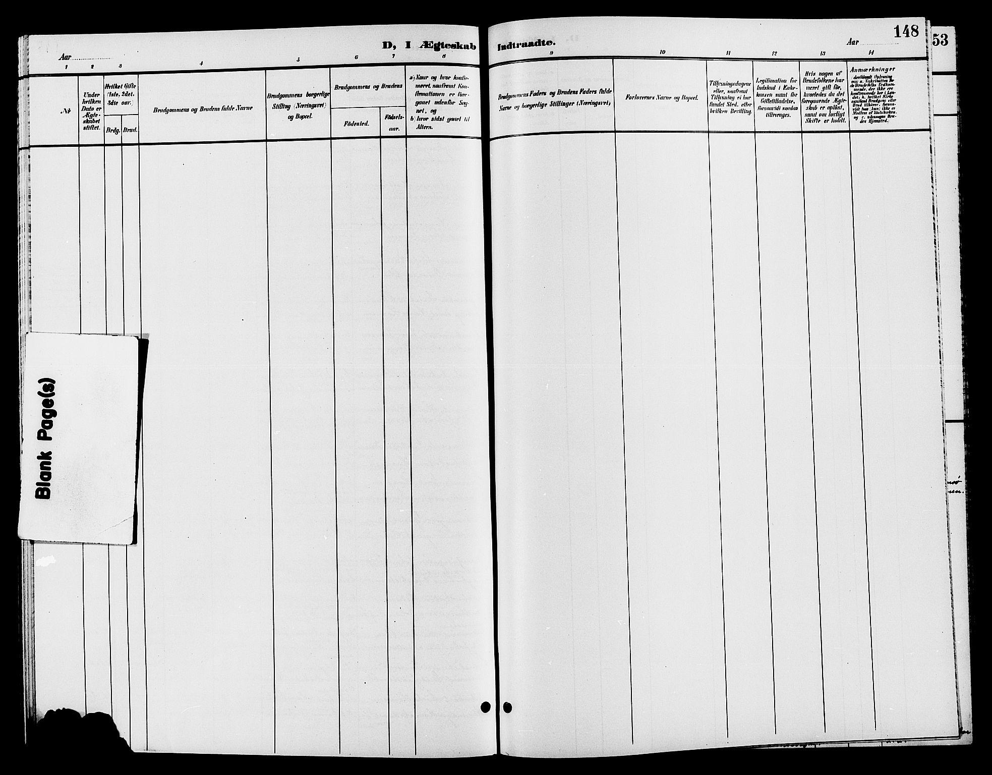 SAH, Jevnaker prestekontor, Klokkerbok nr. 2, 1896-1906, s. 148