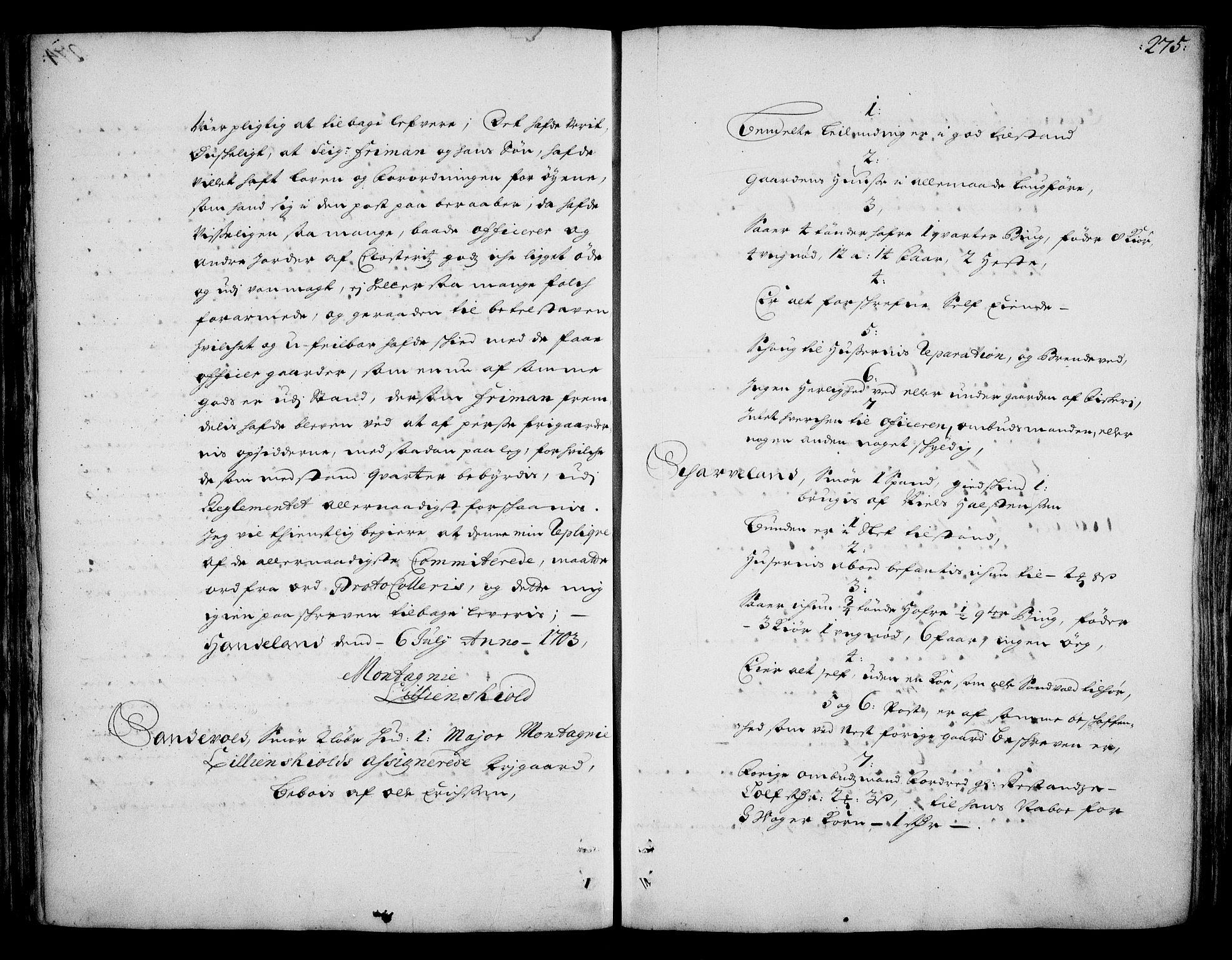 RA, Rentekammeret inntil 1814, Realistisk ordnet avdeling, On/L0002: [Jj 3]: Besiktigelsesforretninger over Halsnøy klosters gods, 1659-1703, s. 274b-275a