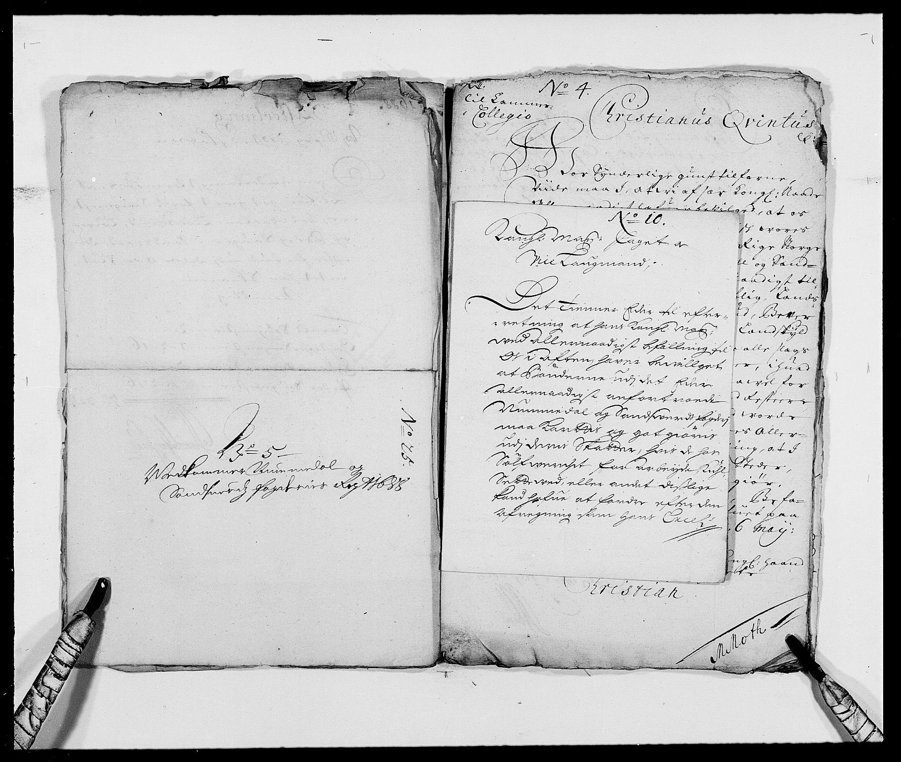 RA, Rentekammeret inntil 1814, Reviderte regnskaper, Fogderegnskap, R24/L1574: Fogderegnskap Numedal og Sandsvær, 1688-1691, s. 10