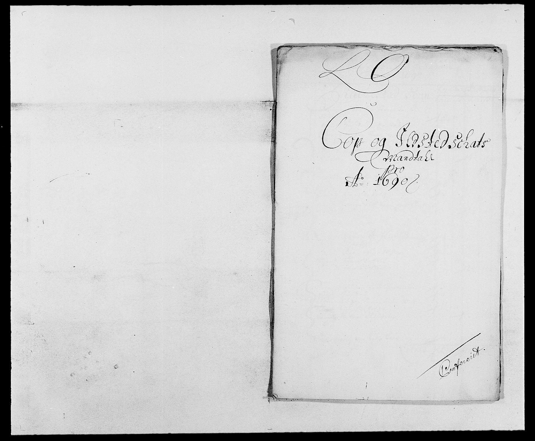 RA, Rentekammeret inntil 1814, Reviderte regnskaper, Fogderegnskap, R05/L0277: Fogderegnskap Rakkestad, 1689-1690, s. 282