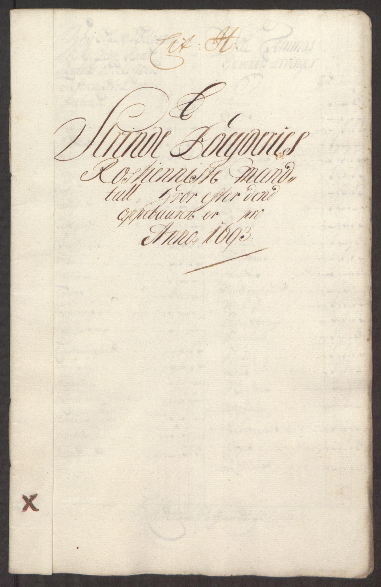 RA, Rentekammeret inntil 1814, Reviderte regnskaper, Fogderegnskap, R61/L4104: Fogderegnskap Strinda og Selbu, 1693-1694, s. 96