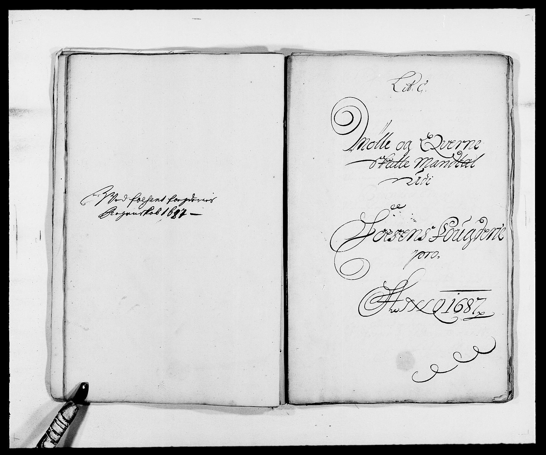 RA, Rentekammeret inntil 1814, Reviderte regnskaper, Fogderegnskap, R57/L3845: Fogderegnskap Fosen, 1687, s. 29