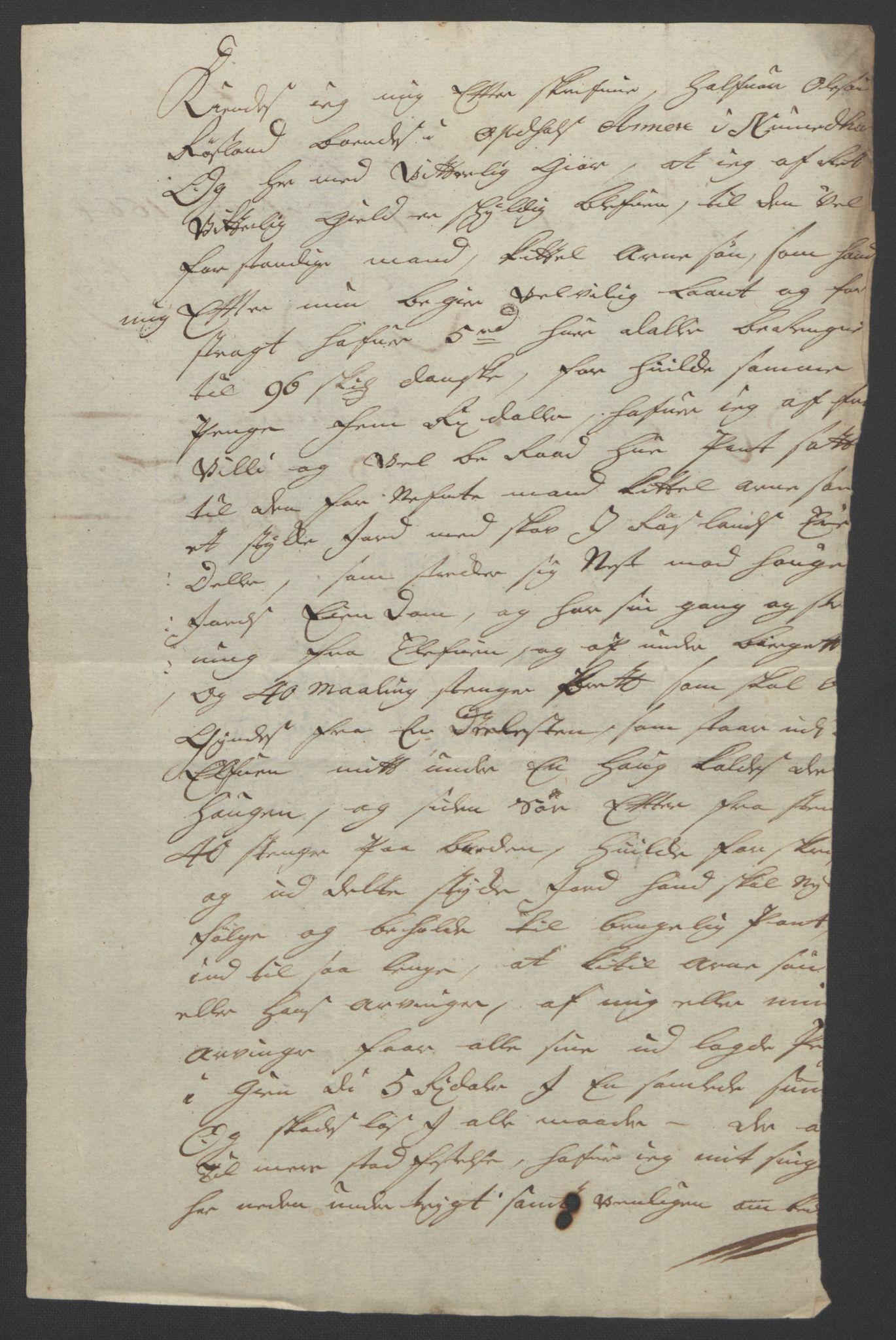 RA, Rentekammeret inntil 1814, Reviderte regnskaper, Fogderegnskap, R24/L1572: Fogderegnskap Numedal og Sandsvær, 1679-1686, s. 354