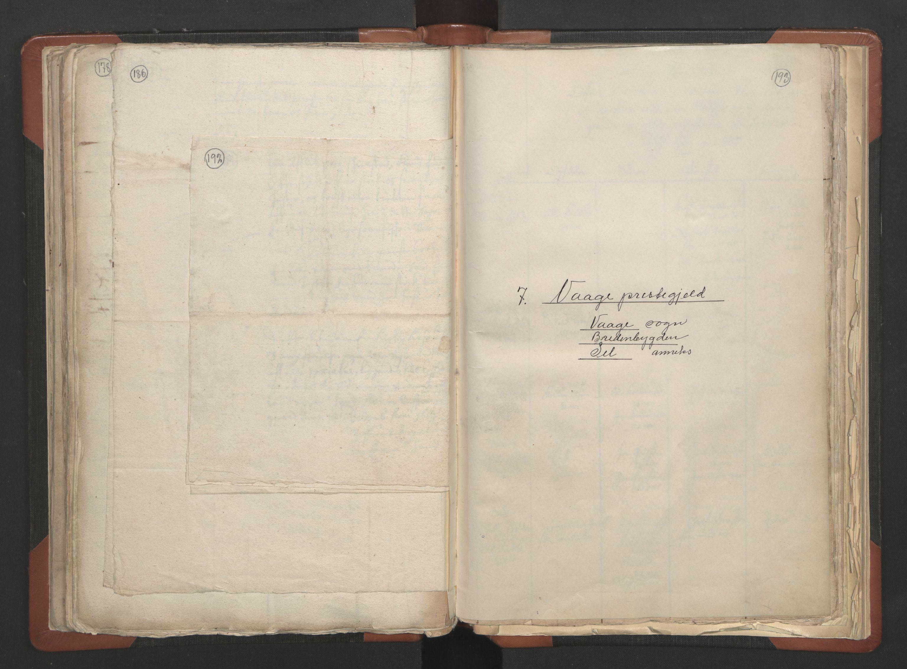 RA, Sogneprestenes manntall 1664-1666, nr. 6: Gudbrandsdal prosti, 1664-1666, s. 192-193