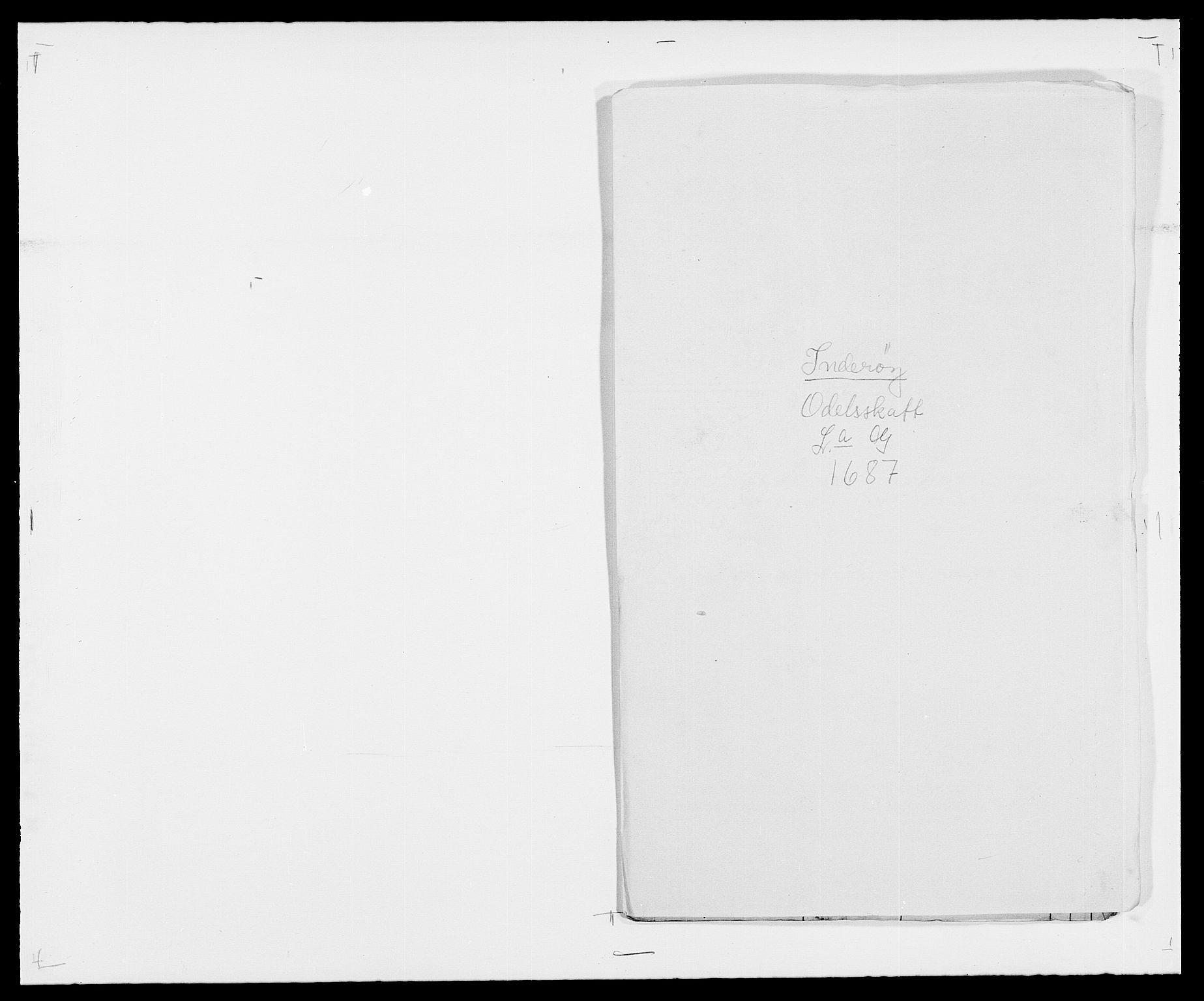 RA, Rentekammeret inntil 1814, Reviderte regnskaper, Fogderegnskap, R63/L4306: Fogderegnskap Inderøy, 1687-1689, s. 109