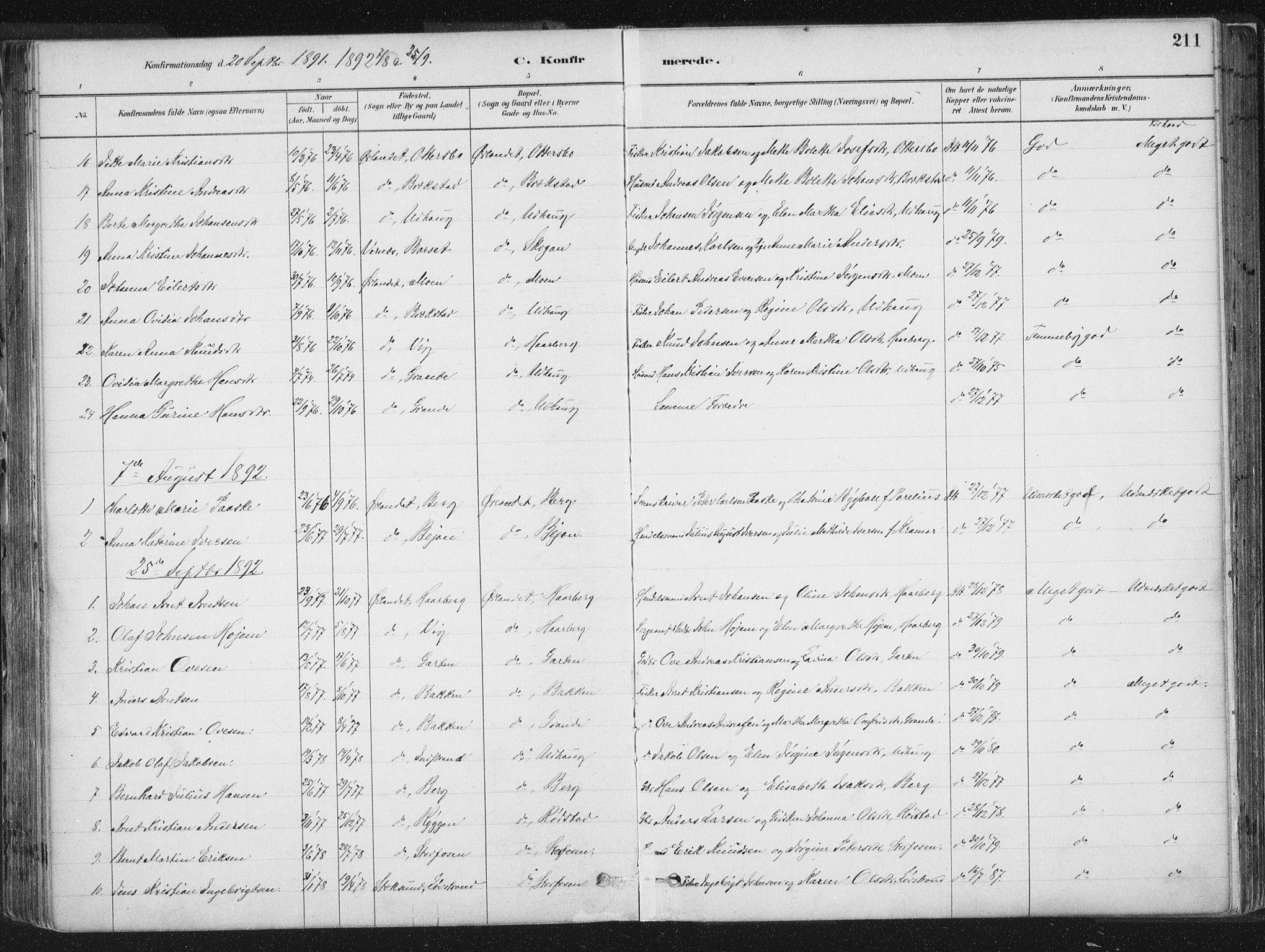 SAT, Ministerialprotokoller, klokkerbøker og fødselsregistre - Sør-Trøndelag, 659/L0739: Ministerialbok nr. 659A09, 1879-1893, s. 211