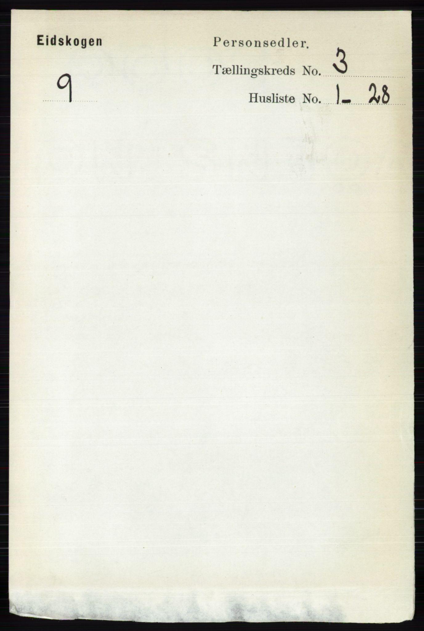 RA, Folketelling 1891 for 0420 Eidskog herred, 1891, s. 1070