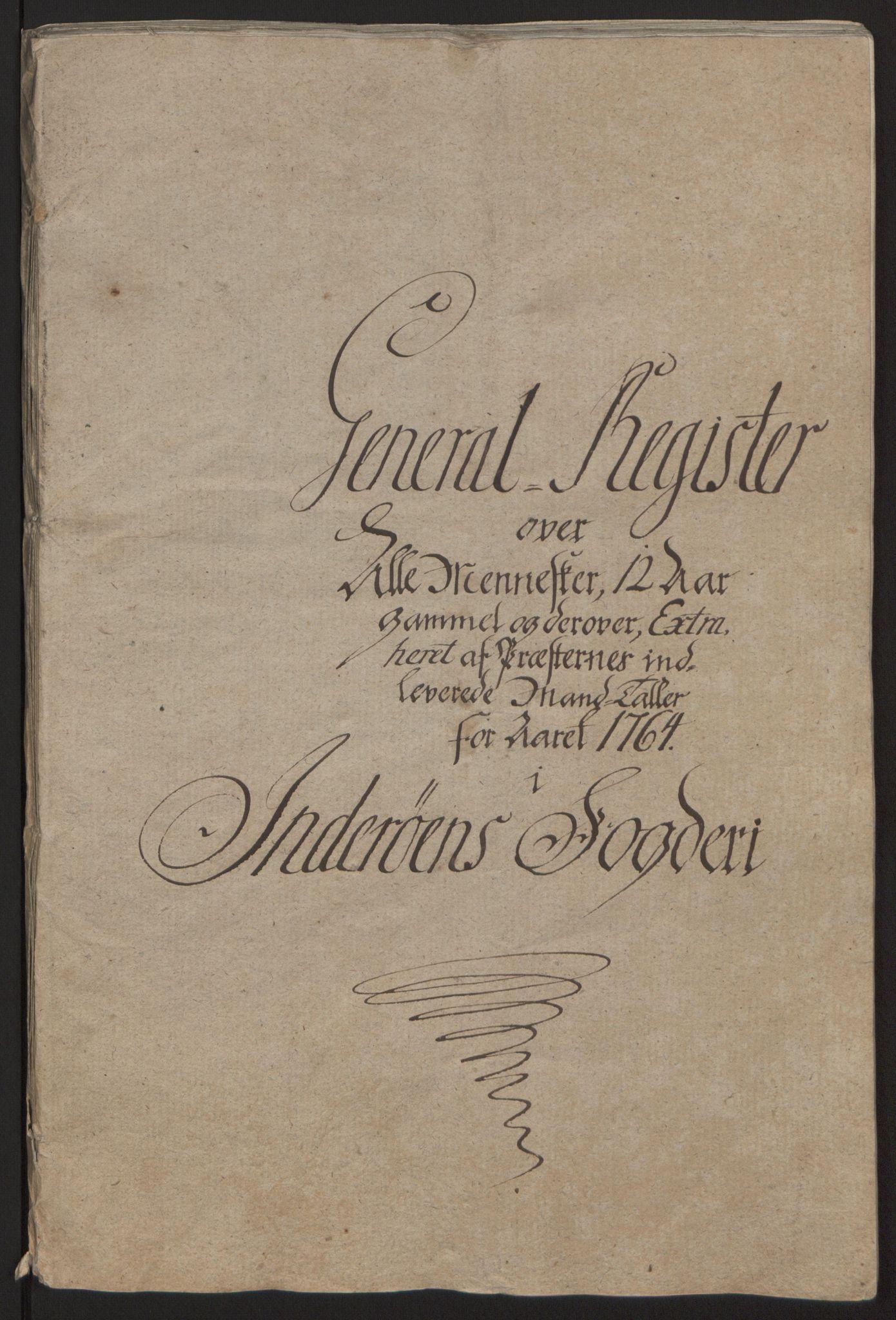 RA, Rentekammeret inntil 1814, Reviderte regnskaper, Fogderegnskap, R63/L4420: Ekstraskatten Inderøy, 1762-1772, s. 94