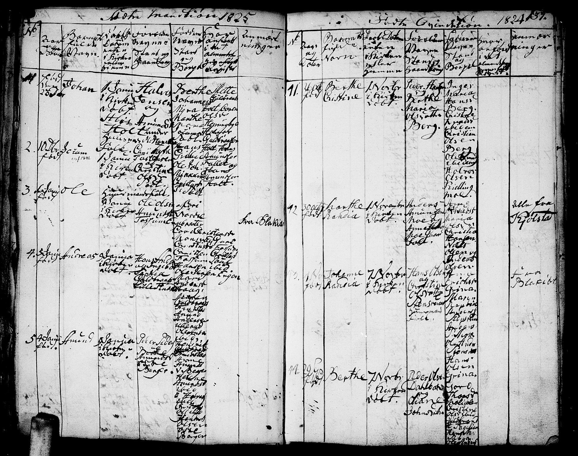 SAO, Aurskog prestekontor Kirkebøker, F/Fa/L0005: Ministerialbok nr. I 5, 1814-1829, s. 137