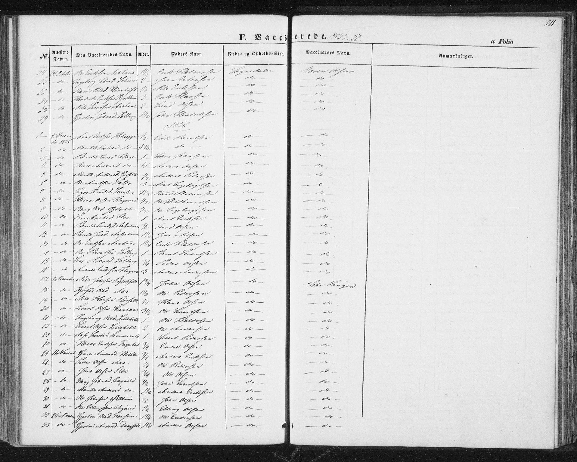 SAT, Ministerialprotokoller, klokkerbøker og fødselsregistre - Sør-Trøndelag, 689/L1038: Ministerialbok nr. 689A03, 1848-1872, s. 211