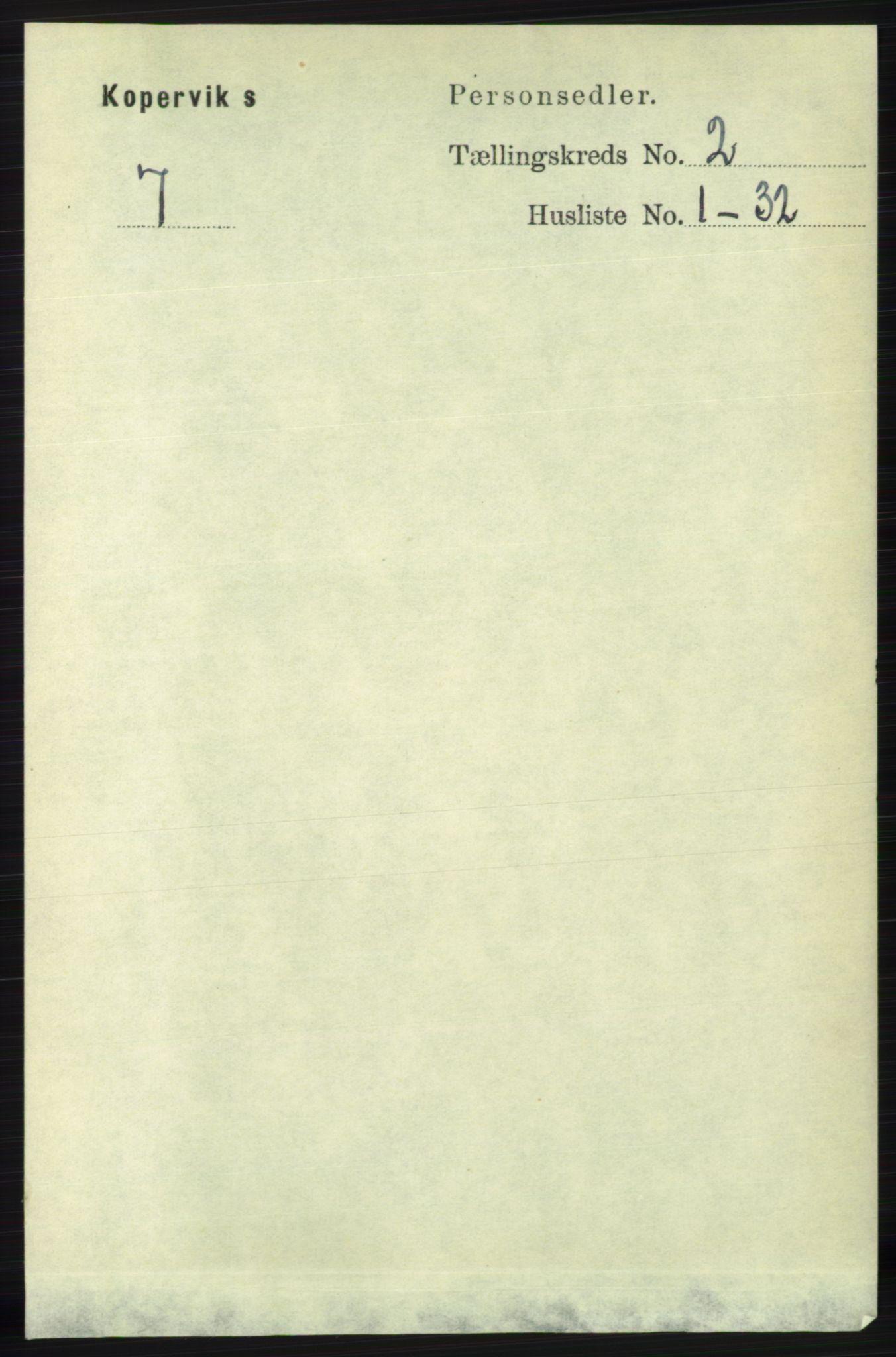RA, Folketelling 1891 for 1147 Avaldsnes herred, 1891, s. 831