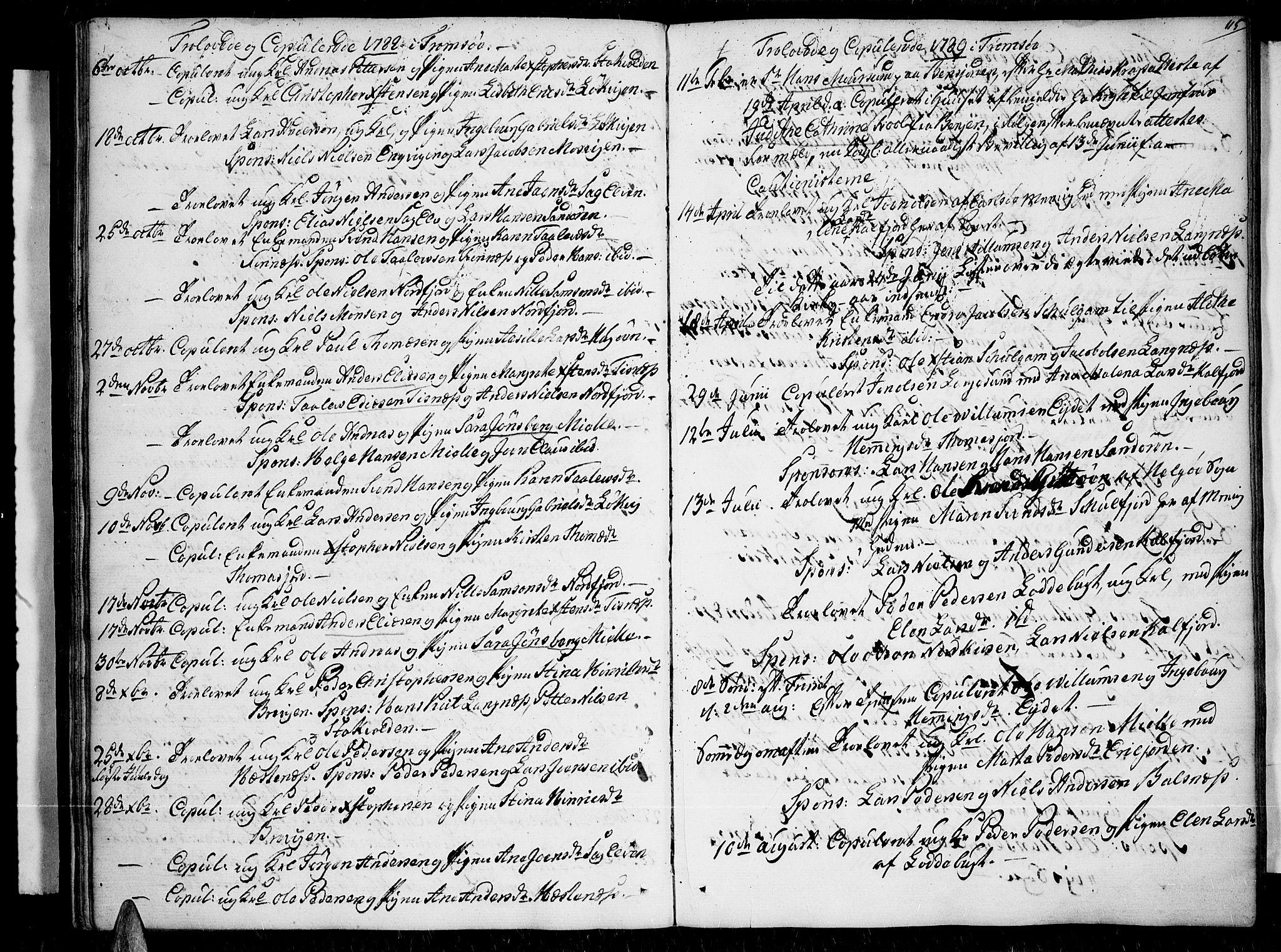 SATØ, Tromsø sokneprestkontor/stiftsprosti/domprosti, G/Ga/L0003kirke: Ministerialbok nr. 3, 1779-1796, s. 115