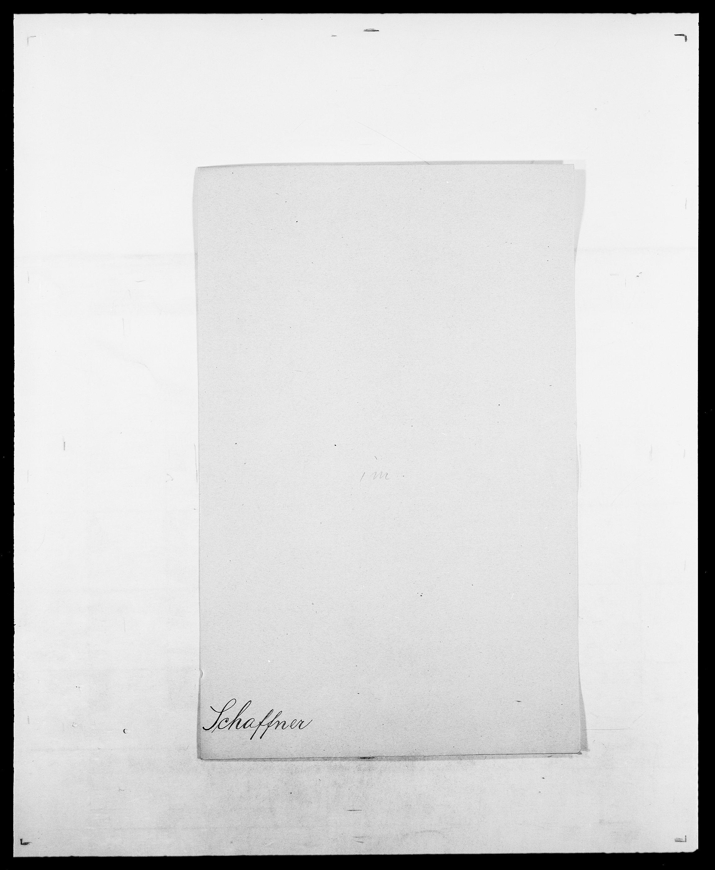 SAO, Delgobe, Charles Antoine - samling, D/Da/L0034: Saabye - Schmincke, s. 320