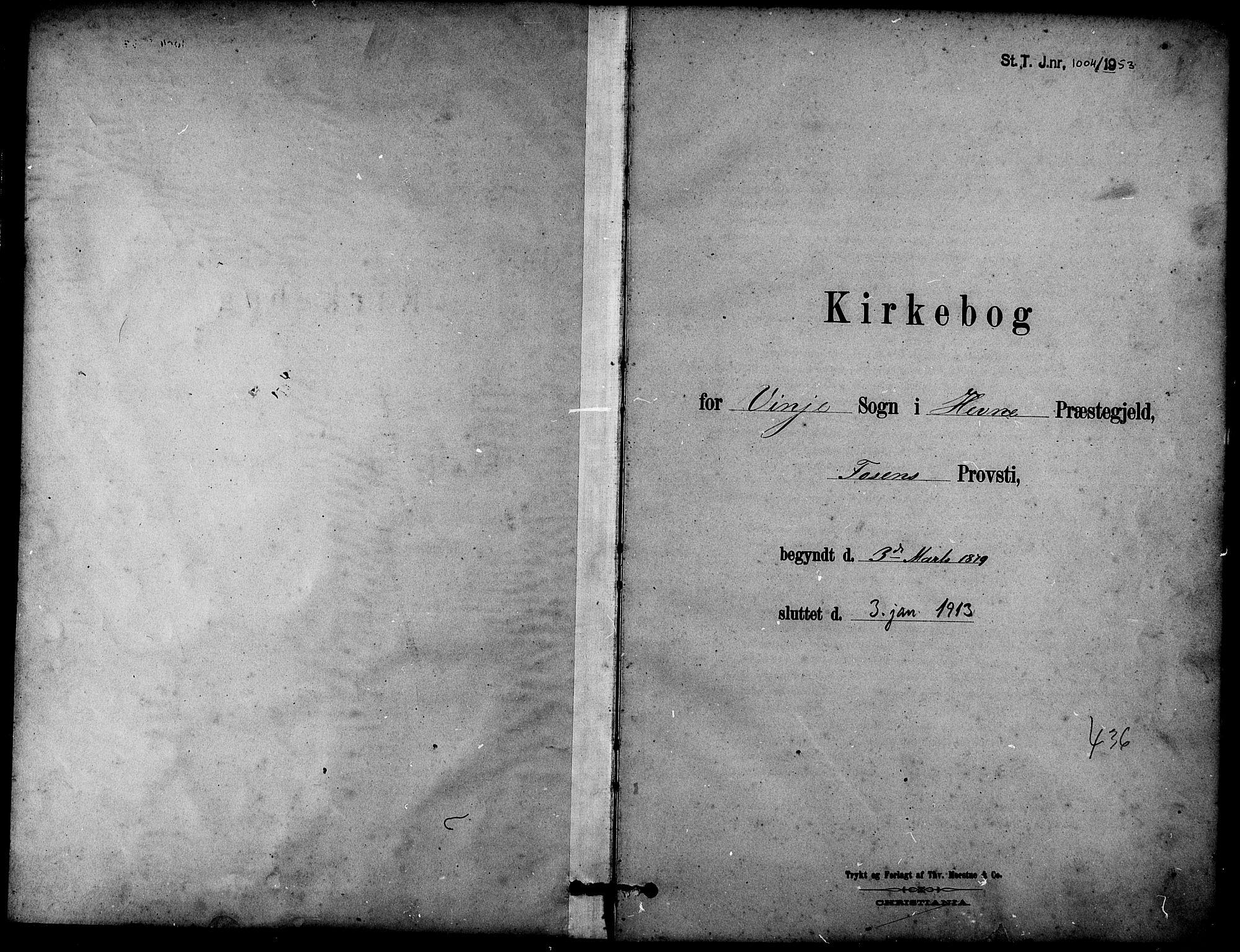 SAT, Ministerialprotokoller, klokkerbøker og fødselsregistre - Sør-Trøndelag, 631/L0514: Klokkerbok nr. 631C02, 1879-1912