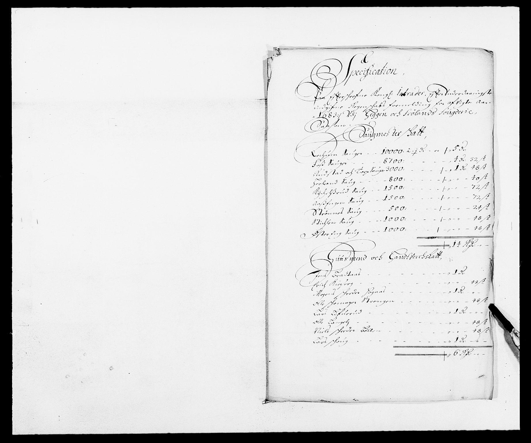 RA, Rentekammeret inntil 1814, Reviderte regnskaper, Fogderegnskap, R06/L0280: Fogderegnskap Heggen og Frøland, 1681-1684, s. 379