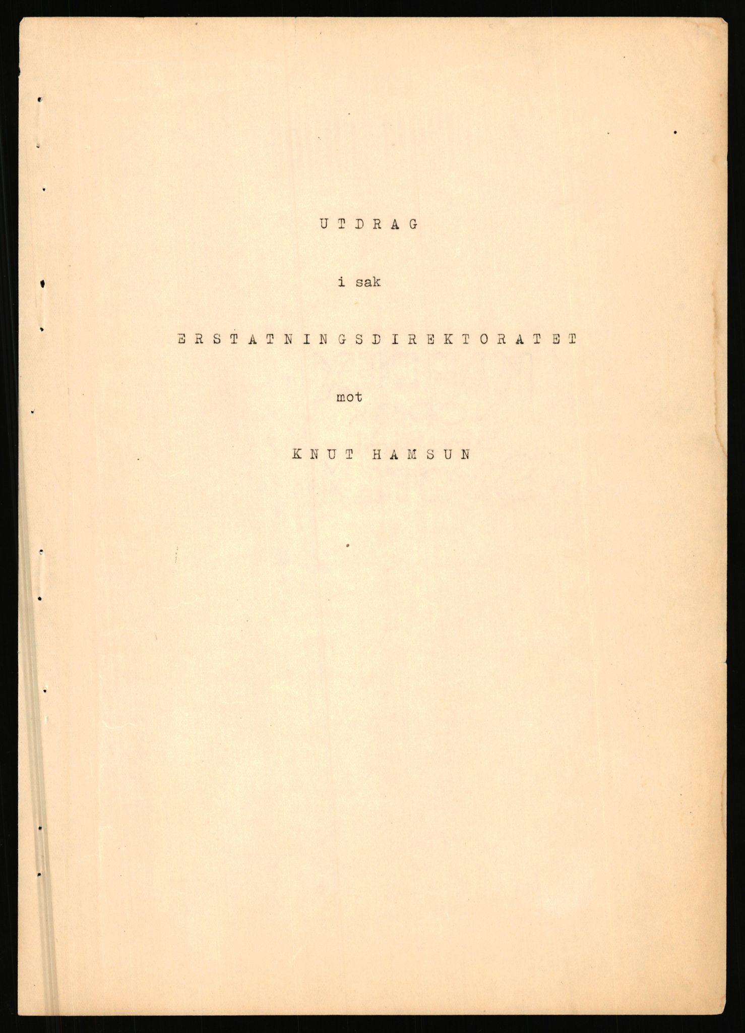 RA, Landssvikarkivet, Arendal politikammer, D/Dc/L0029: Anr. 192/45, 1945-1951, s. 943
