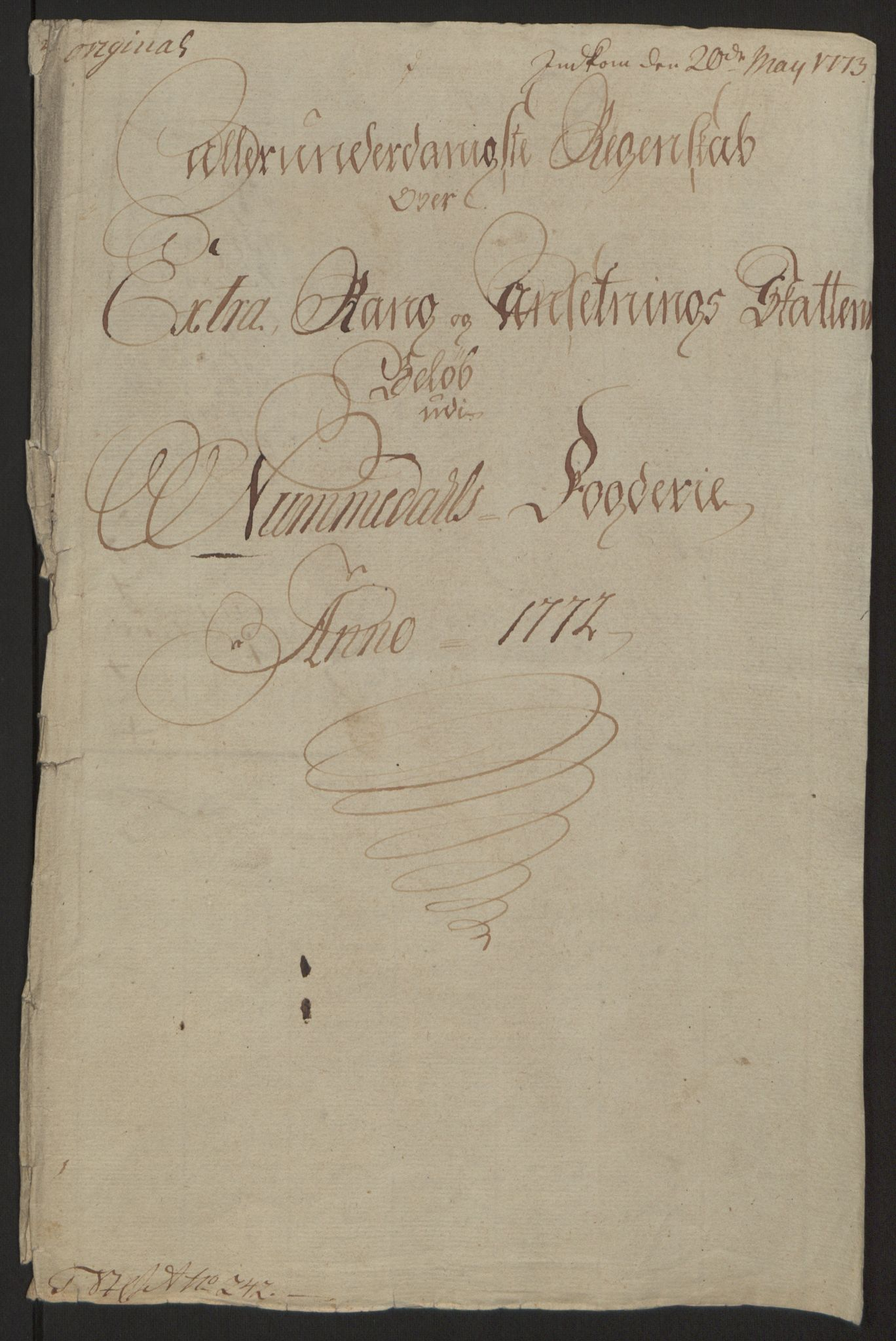 RA, Rentekammeret inntil 1814, Reviderte regnskaper, Fogderegnskap, R64/L4502: Ekstraskatten Namdal, 1762-1772, s. 422