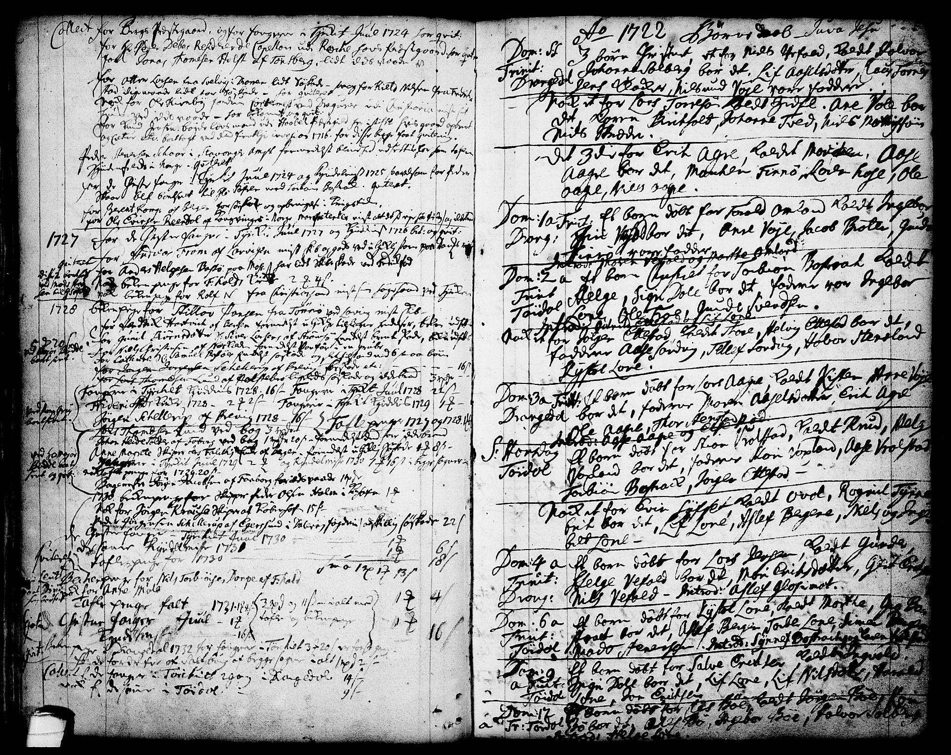 SAKO, Drangedal kirkebøker, F/Fa/L0001: Ministerialbok nr. 1, 1697-1767, s. 43