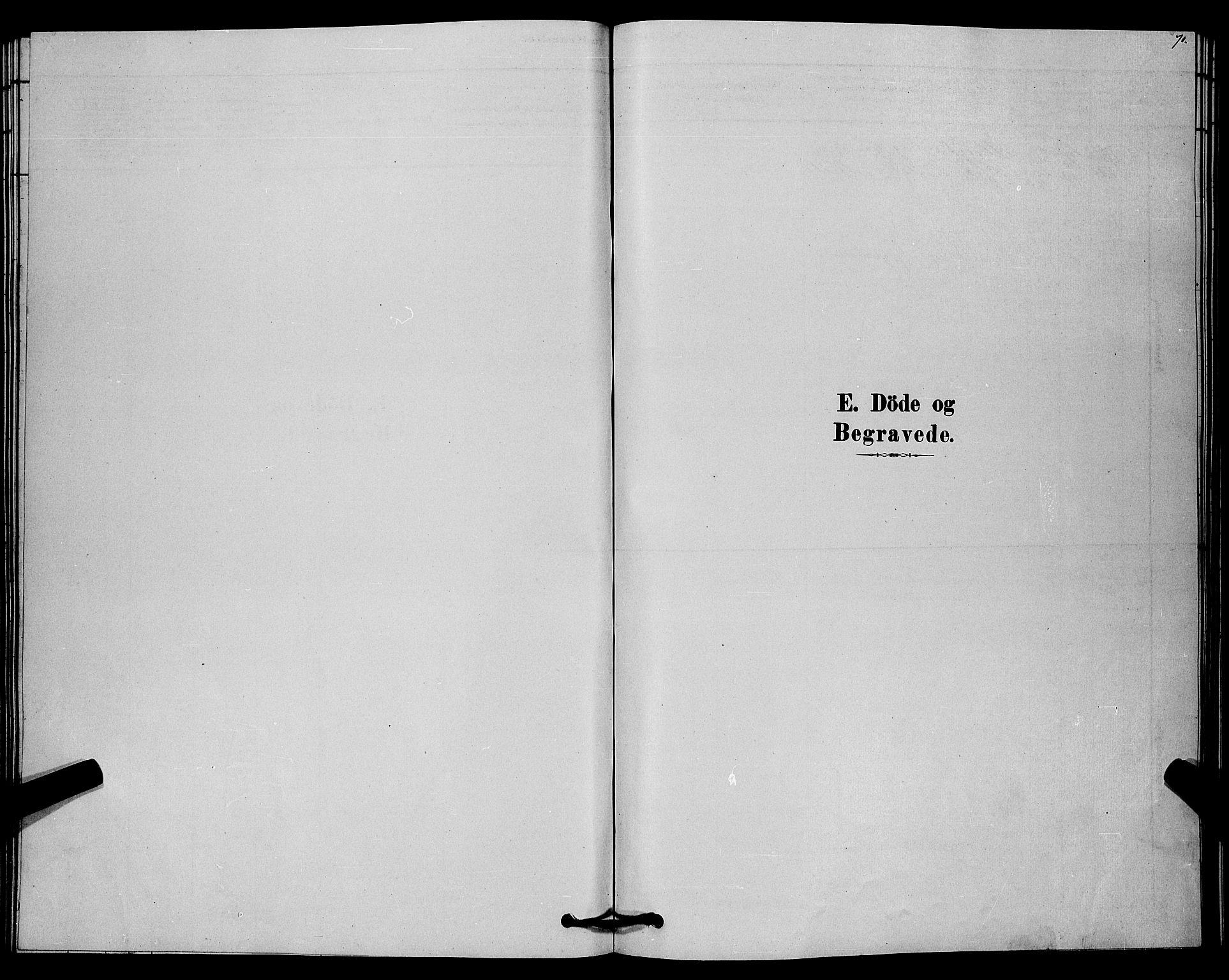 SAKO, Lårdal kirkebøker, G/Gc/L0003: Klokkerbok nr. III 3, 1878-1890, s. 70
