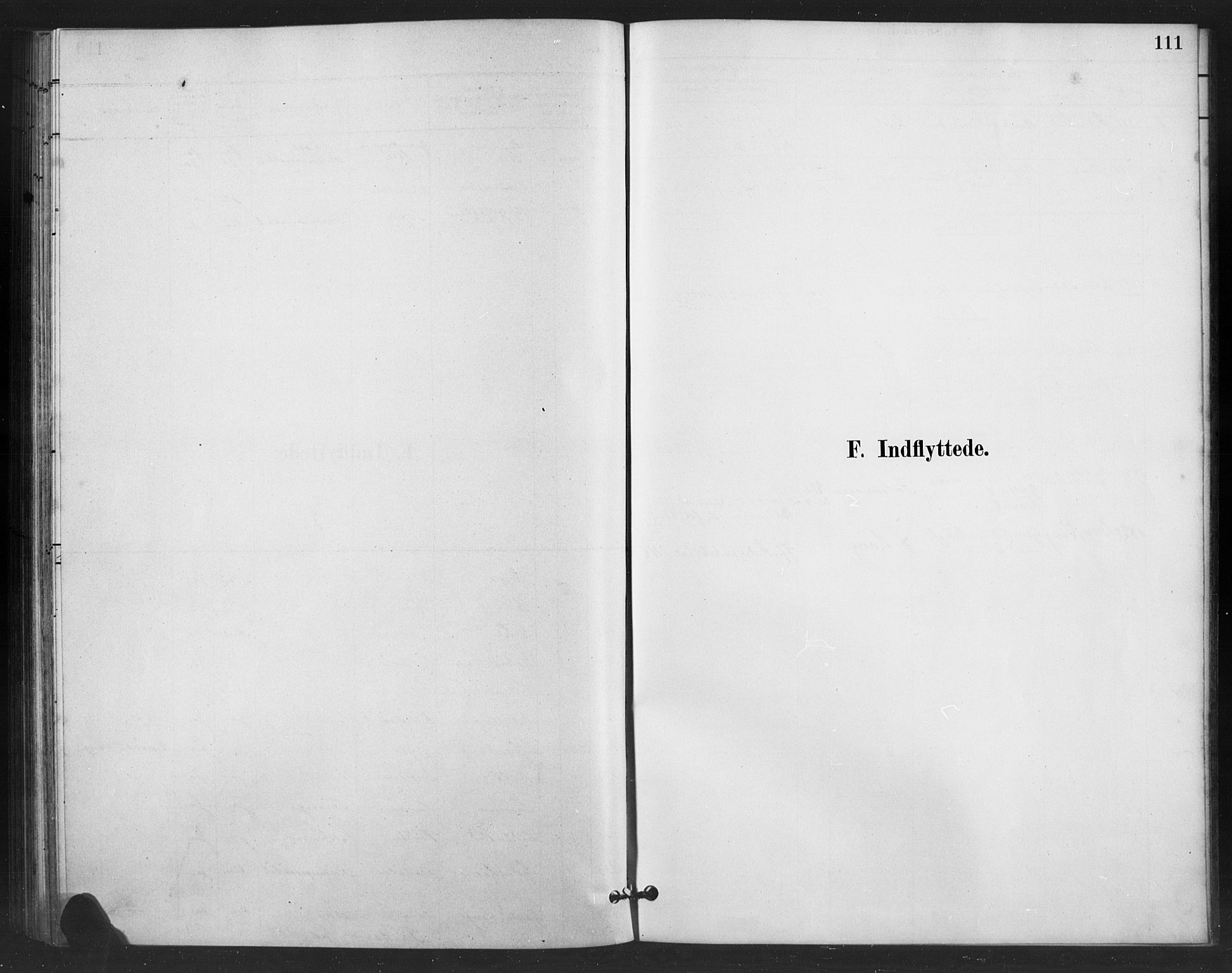 SAH, Vestre Slidre prestekontor, Klokkerbok nr. 6, 1881-1915, s. 111