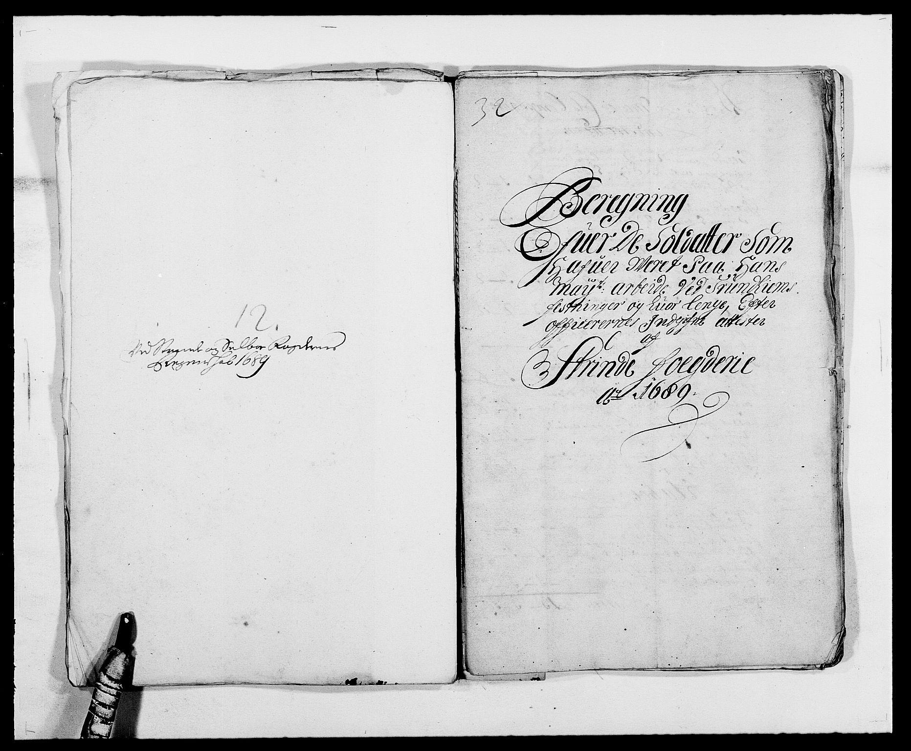 RA, Rentekammeret inntil 1814, Reviderte regnskaper, Fogderegnskap, R61/L4102: Fogderegnskap Strinda og Selbu, 1689-1690, s. 71