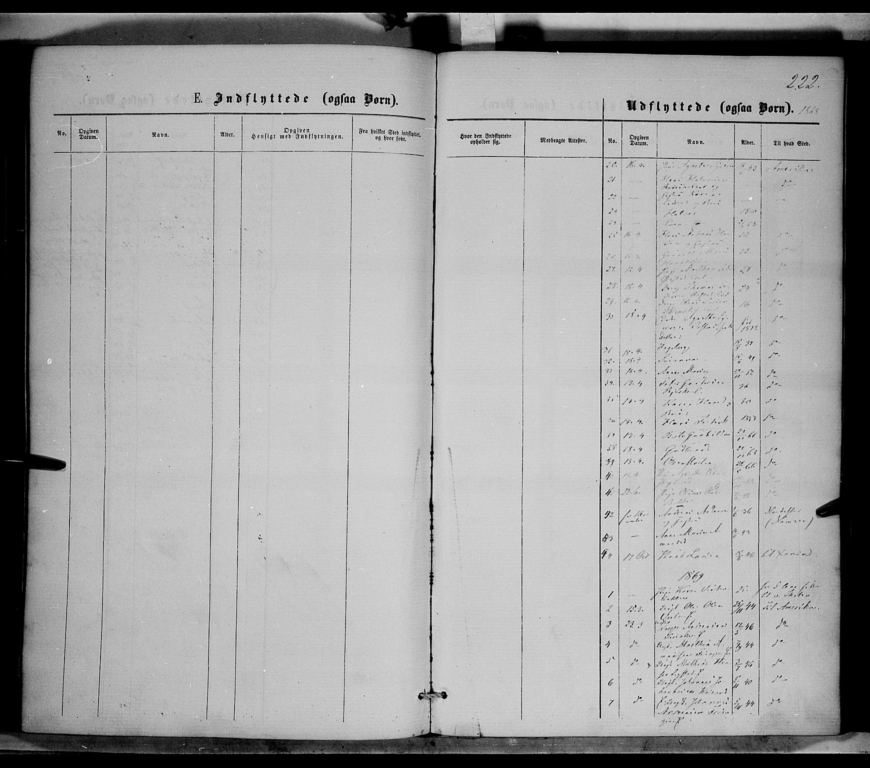 SAH, Nordre Land prestekontor, Ministerialbok nr. 1, 1860-1871, s. 222