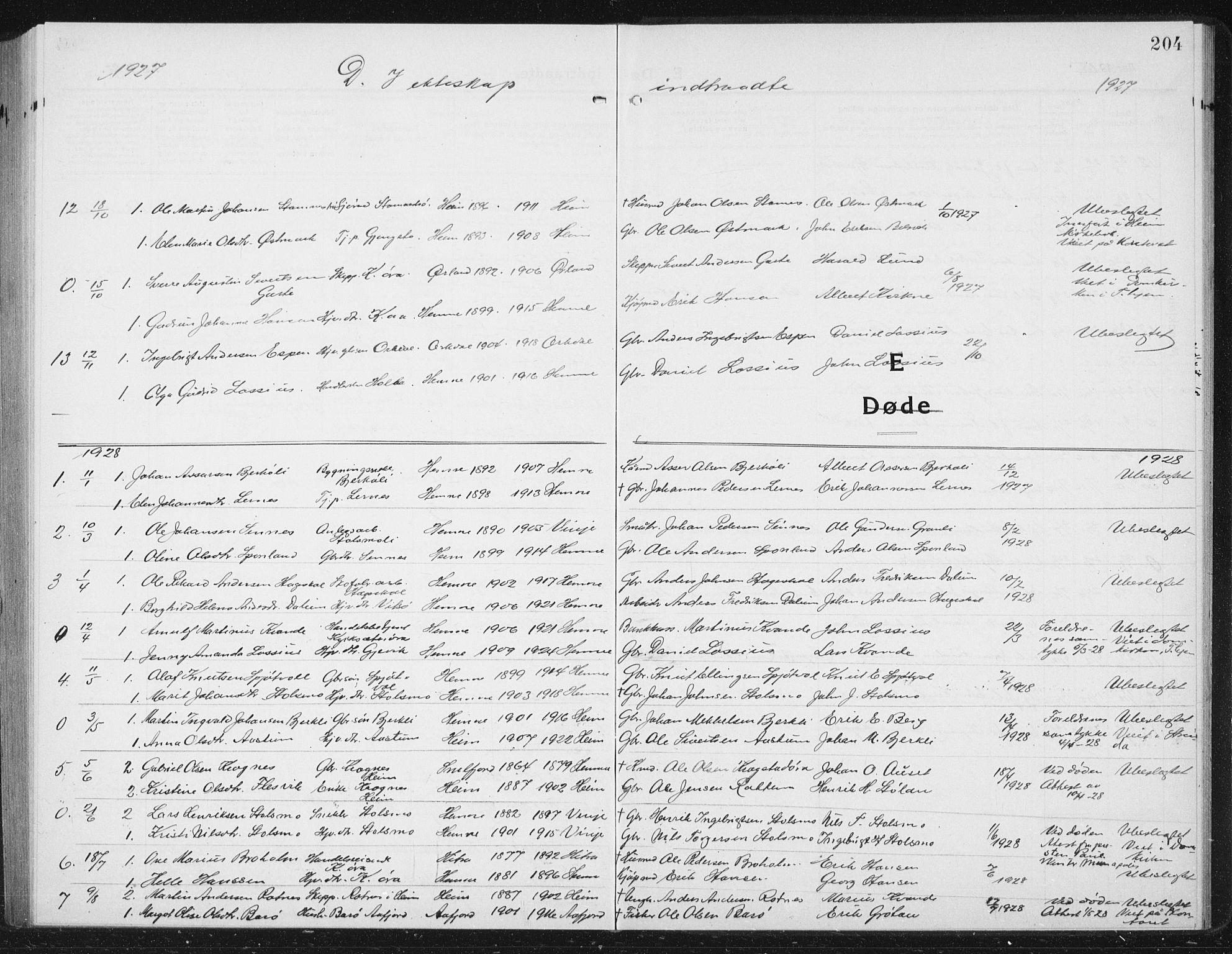 SAT, Ministerialprotokoller, klokkerbøker og fødselsregistre - Sør-Trøndelag, 630/L0506: Klokkerbok nr. 630C04, 1914-1933, s. 204