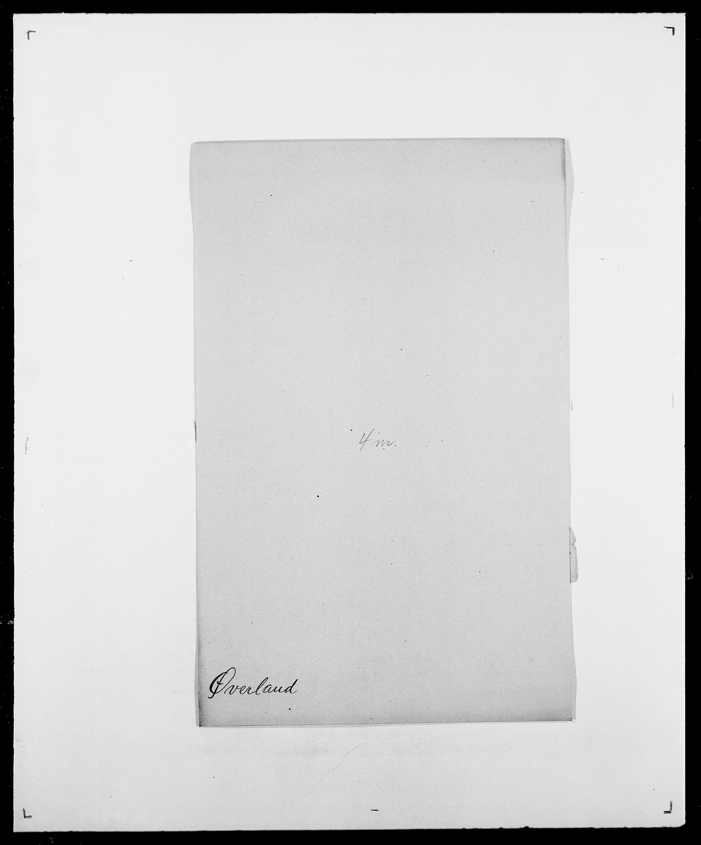 SAO, Delgobe, Charles Antoine - samling, D/Da/L0043: Wulfsberg - v. Zanten, s. 399