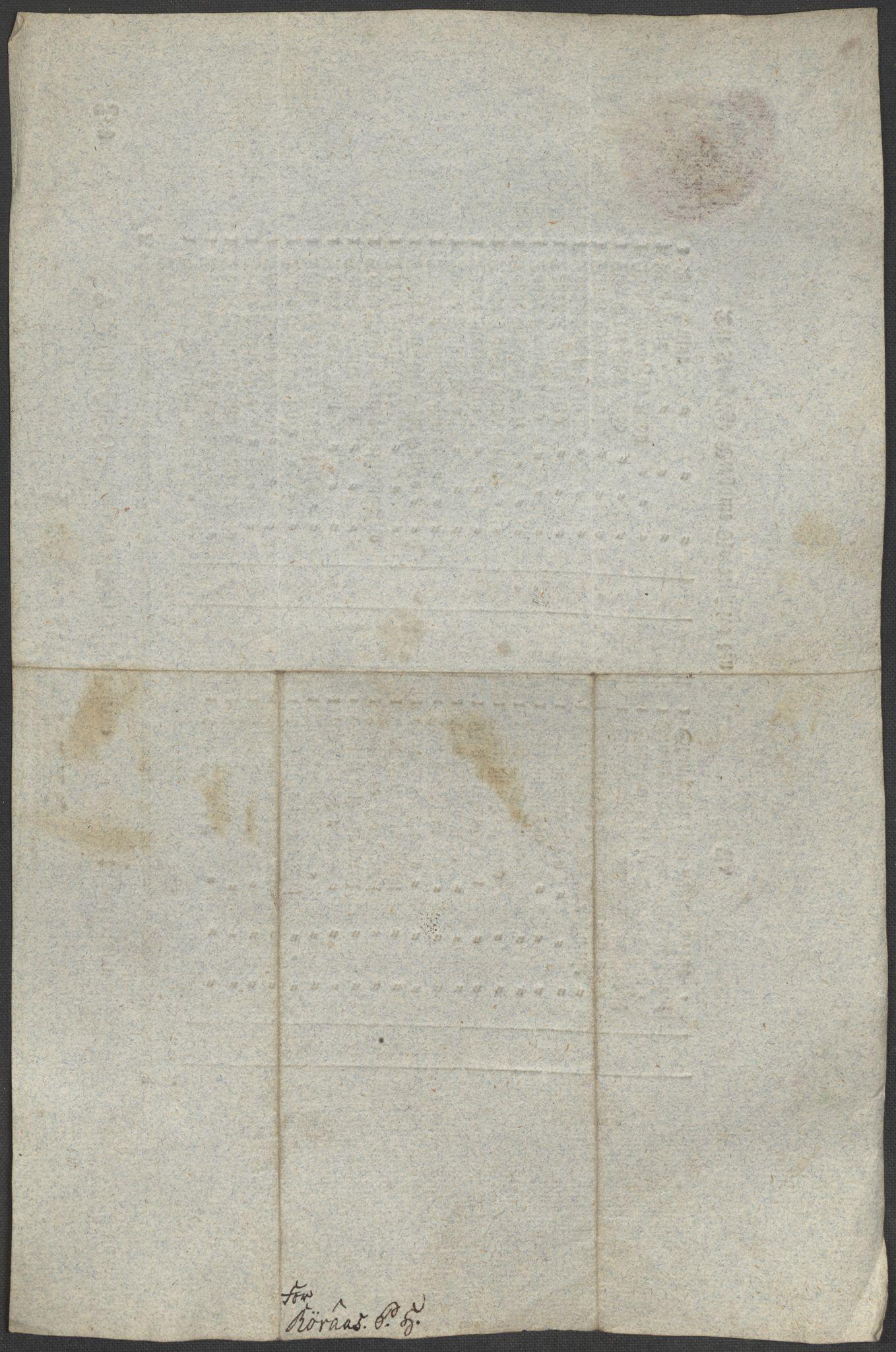 SAT, Røros kobberverk, 12/L0021: 12.20.9 Provianttakster, 1765-1824, s. 115