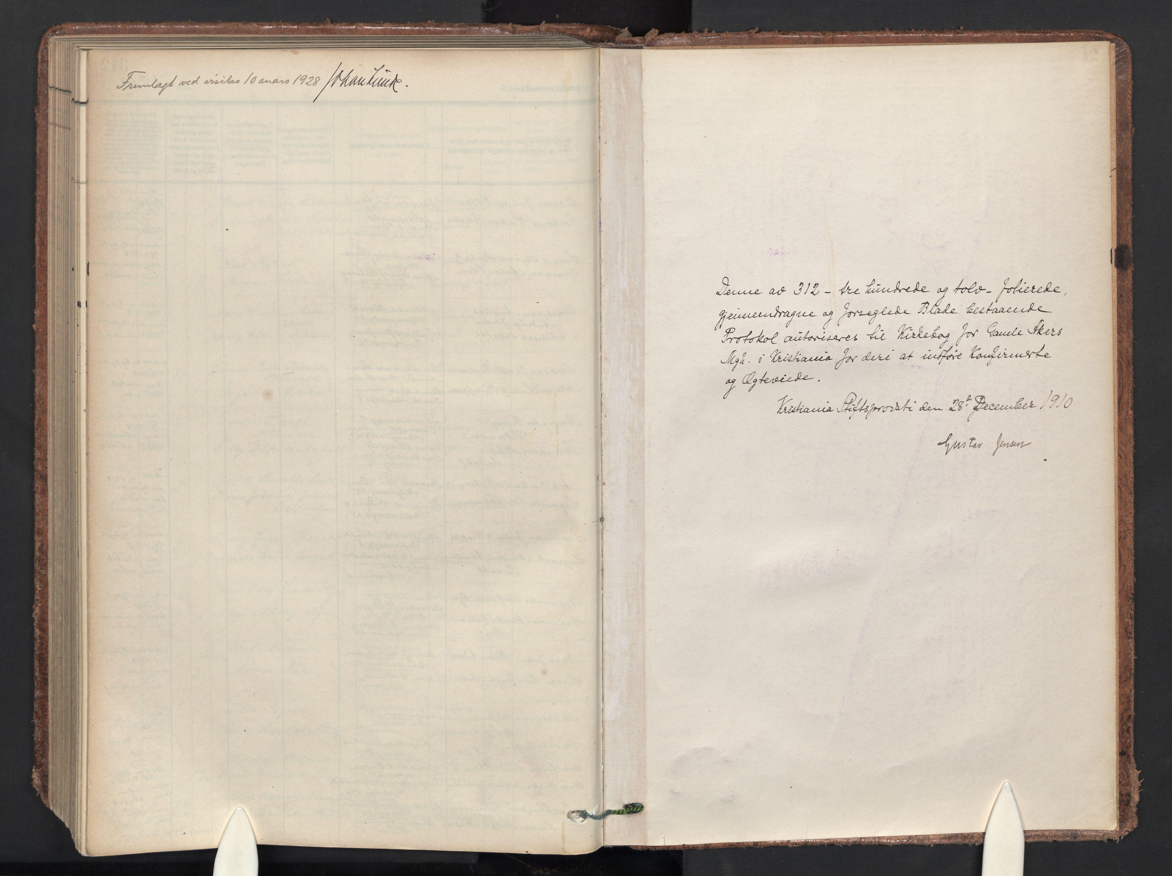 SAO, Gamle Aker prestekontor Kirkebøker, F/L0015: Ministerialbok nr. 15, 1911-1924