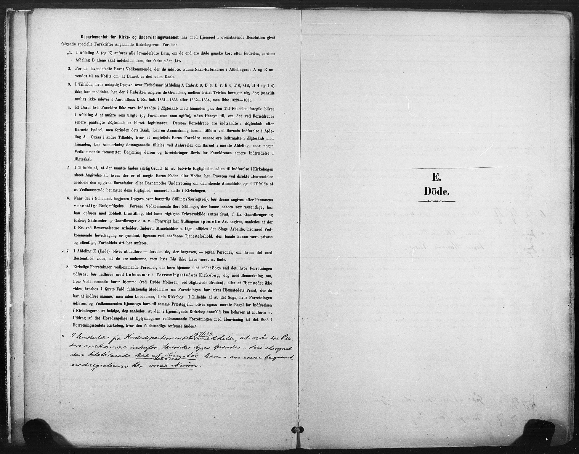 SAKO, Larvik kirkebøker, F/Fa/L0010: Ministerialbok nr. I 10, 1884-1910