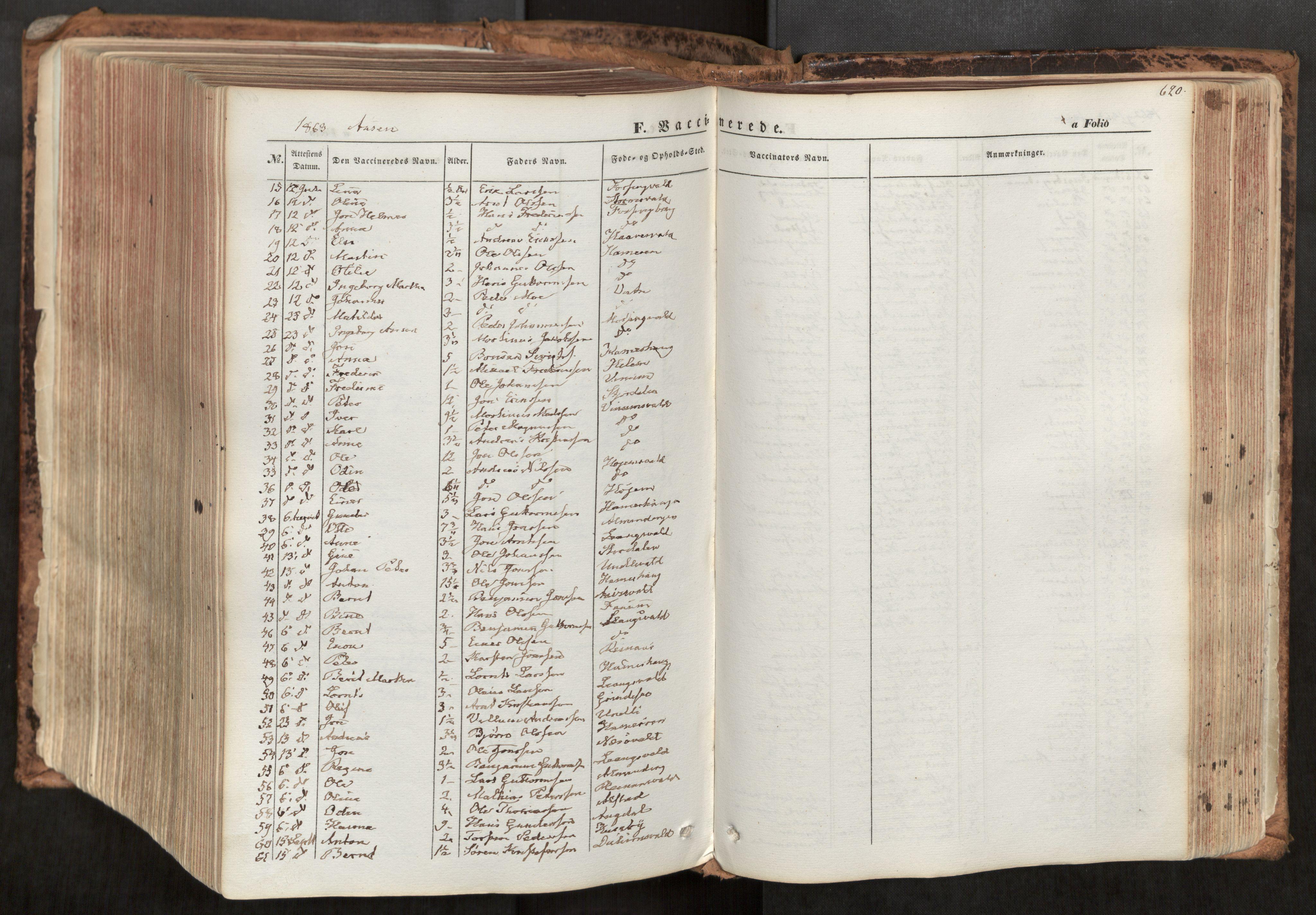SAT, Ministerialprotokoller, klokkerbøker og fødselsregistre - Nord-Trøndelag, 713/L0116: Ministerialbok nr. 713A07, 1850-1877, s. 620